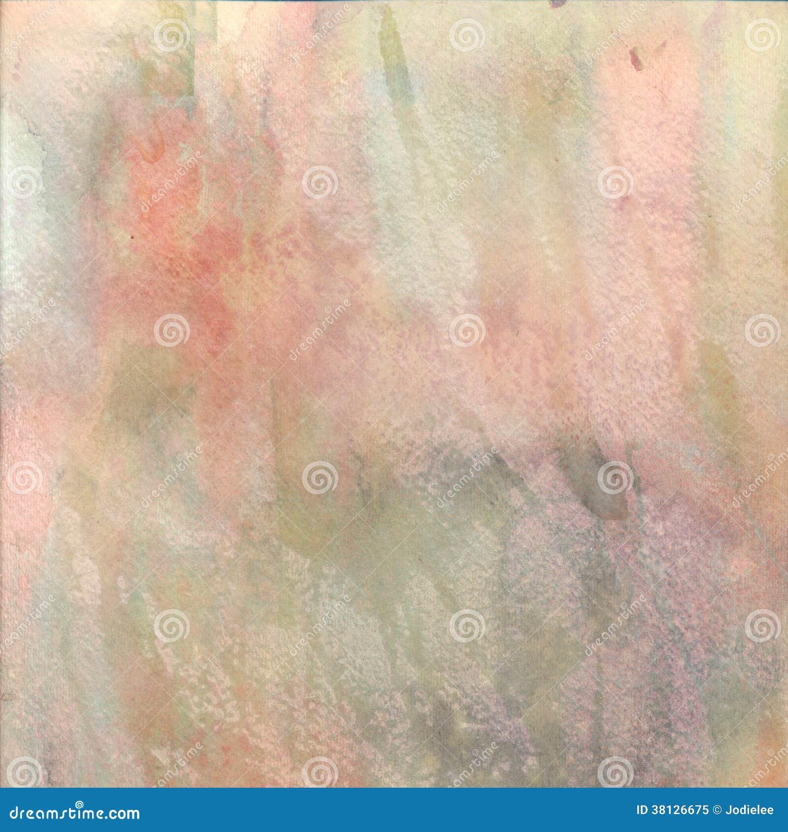 Akwarela textured tło w pastelowych kolorach