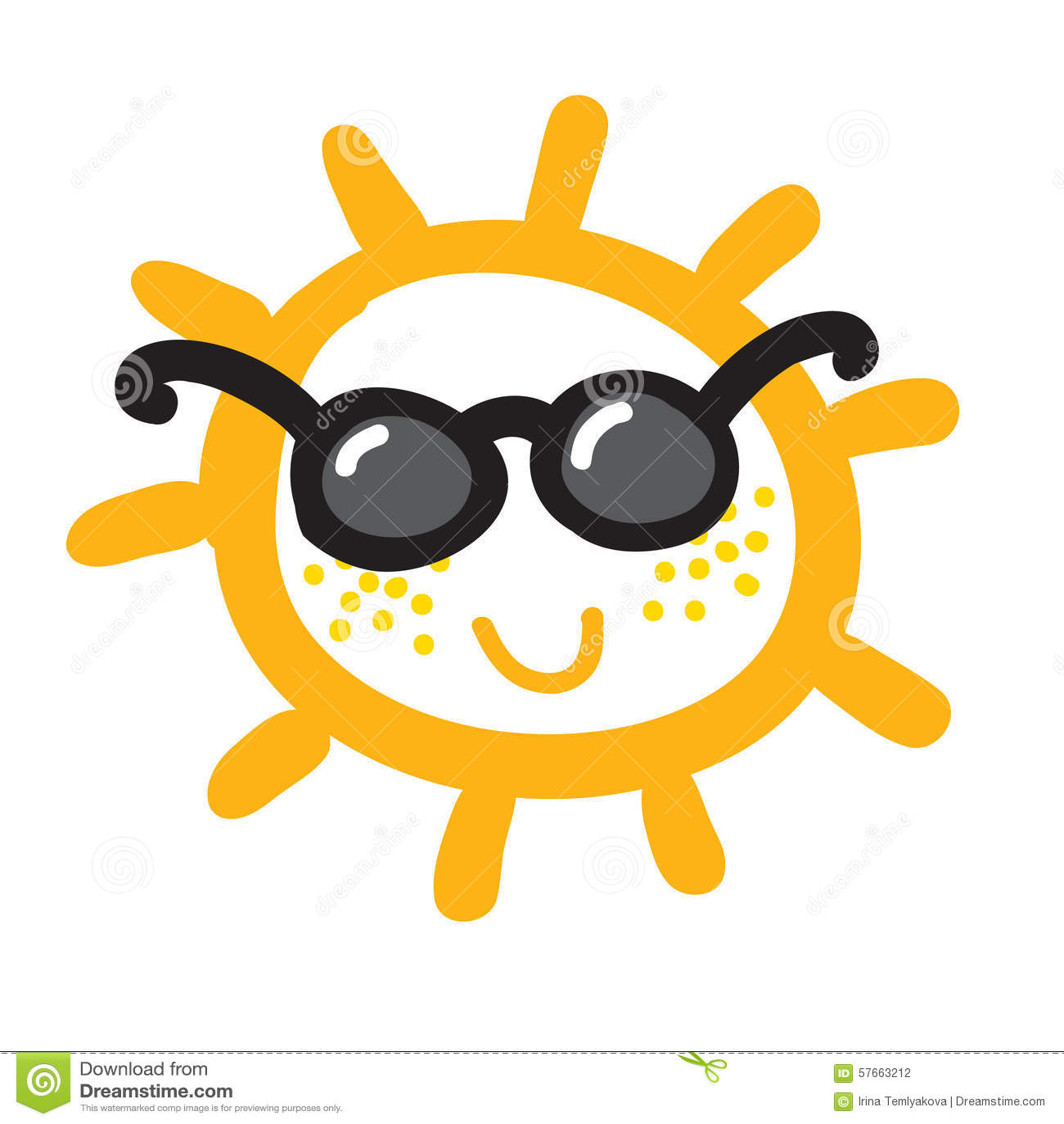 Akwareli słońce, promień ikony zbliżenia płaska sylwetka