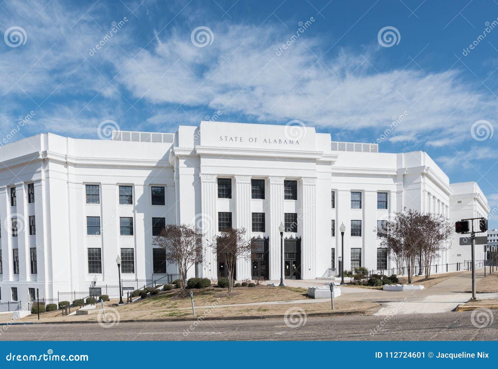 AL Attorney General Office Bldg Editorial Photo - Image of ...