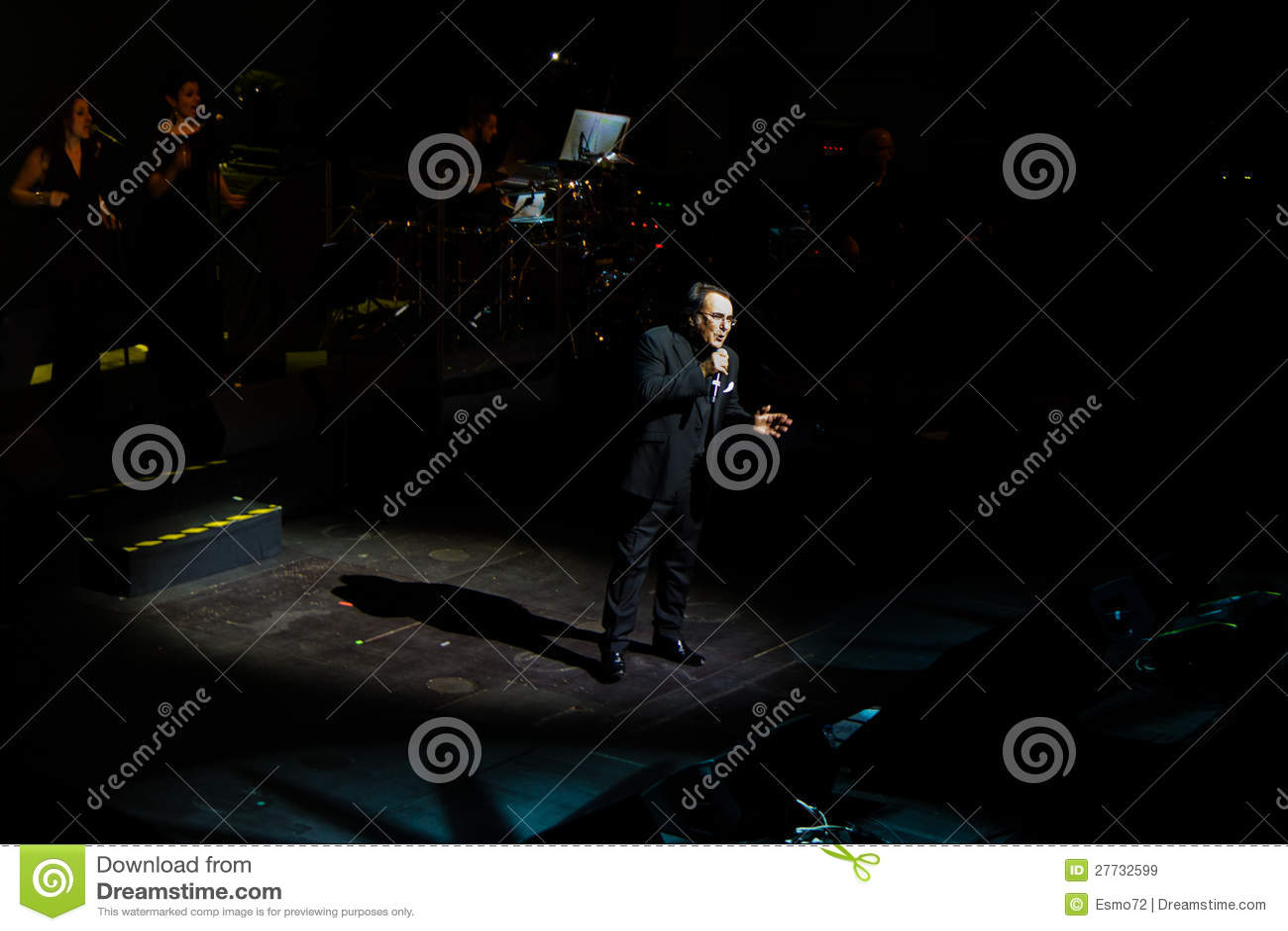 Al Bano im Konzert am Liceu Theater in Barcelona