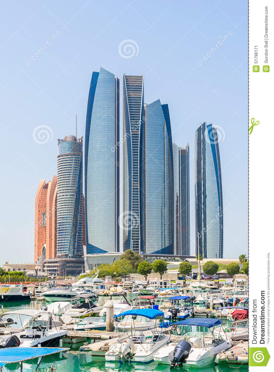 Al bateen in downtown abu dhabi stock image image 51796171 for Al manzool decoration abu dhabi