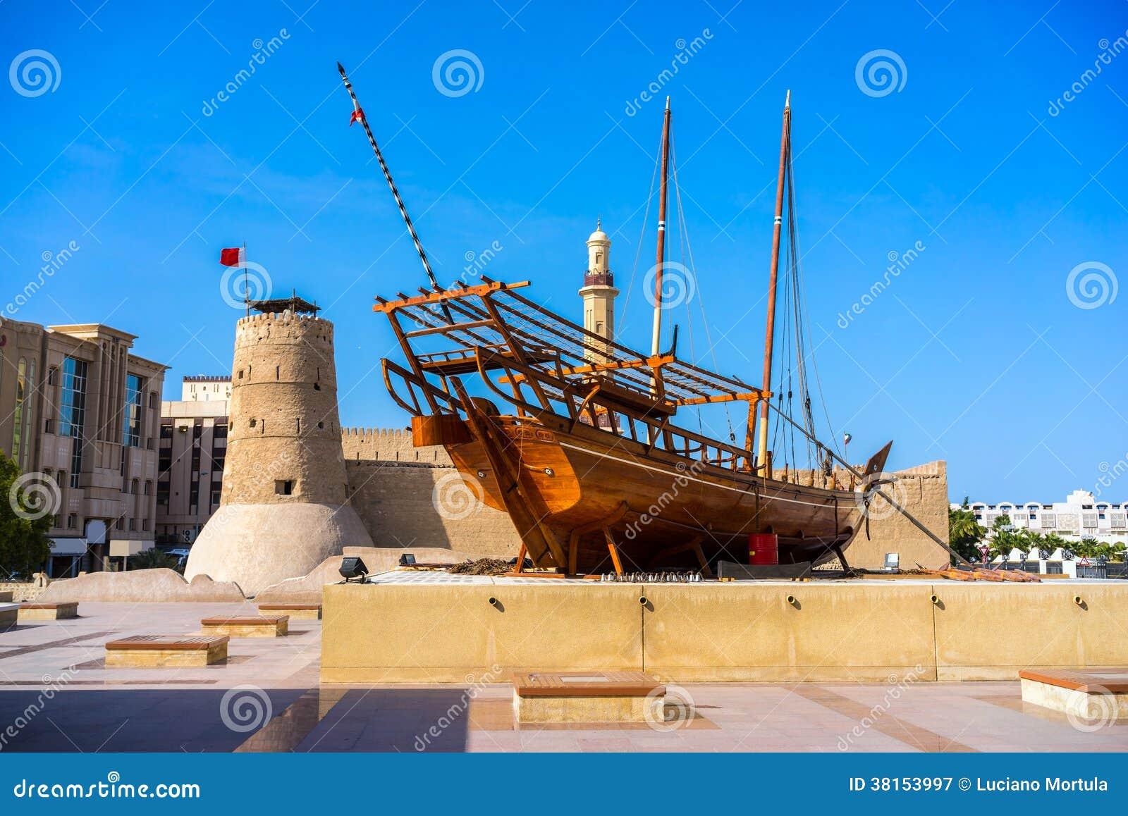 Al Fahidi fort, Dubaj, UAE.