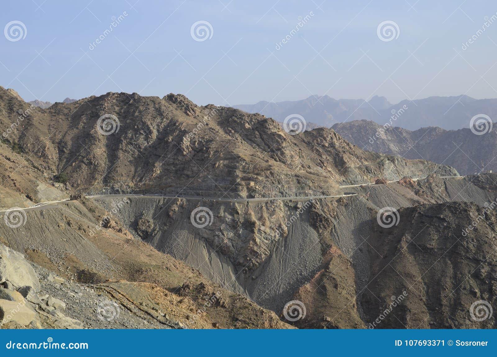 Al Hada Mountain, Al Hada-Taif Road, Saudi-Arabien