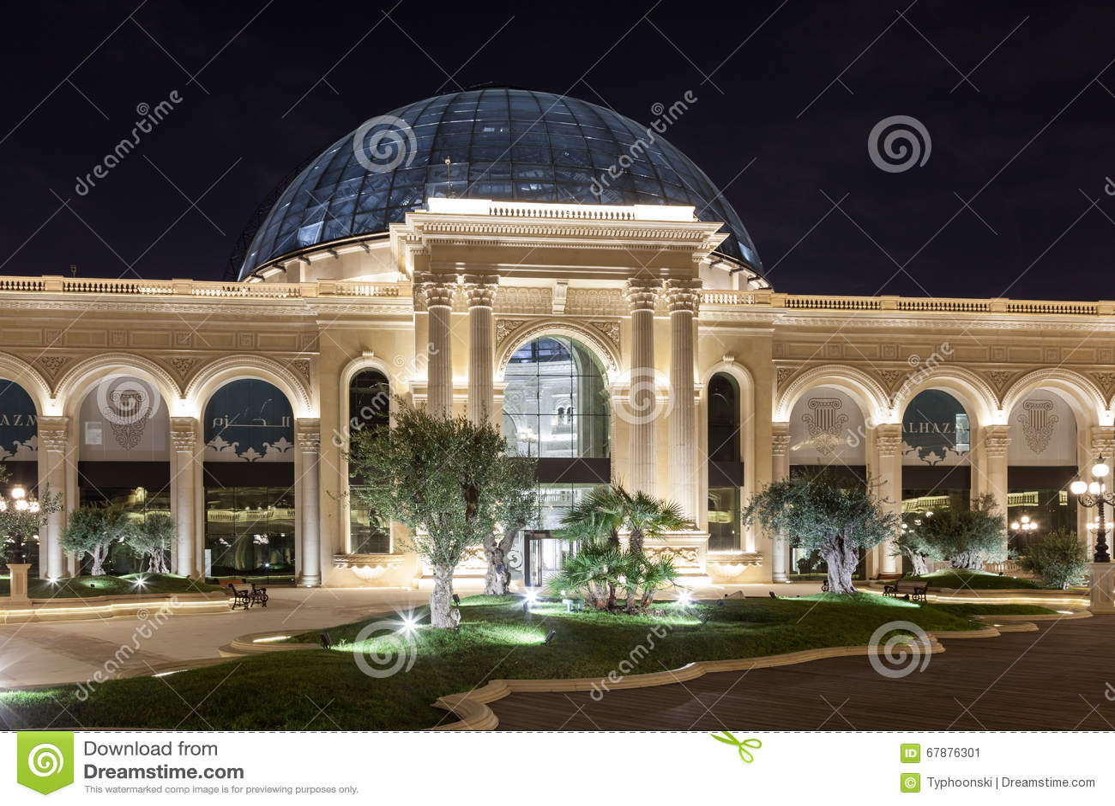 Al Hazm购物中心在多哈,卡塔尔