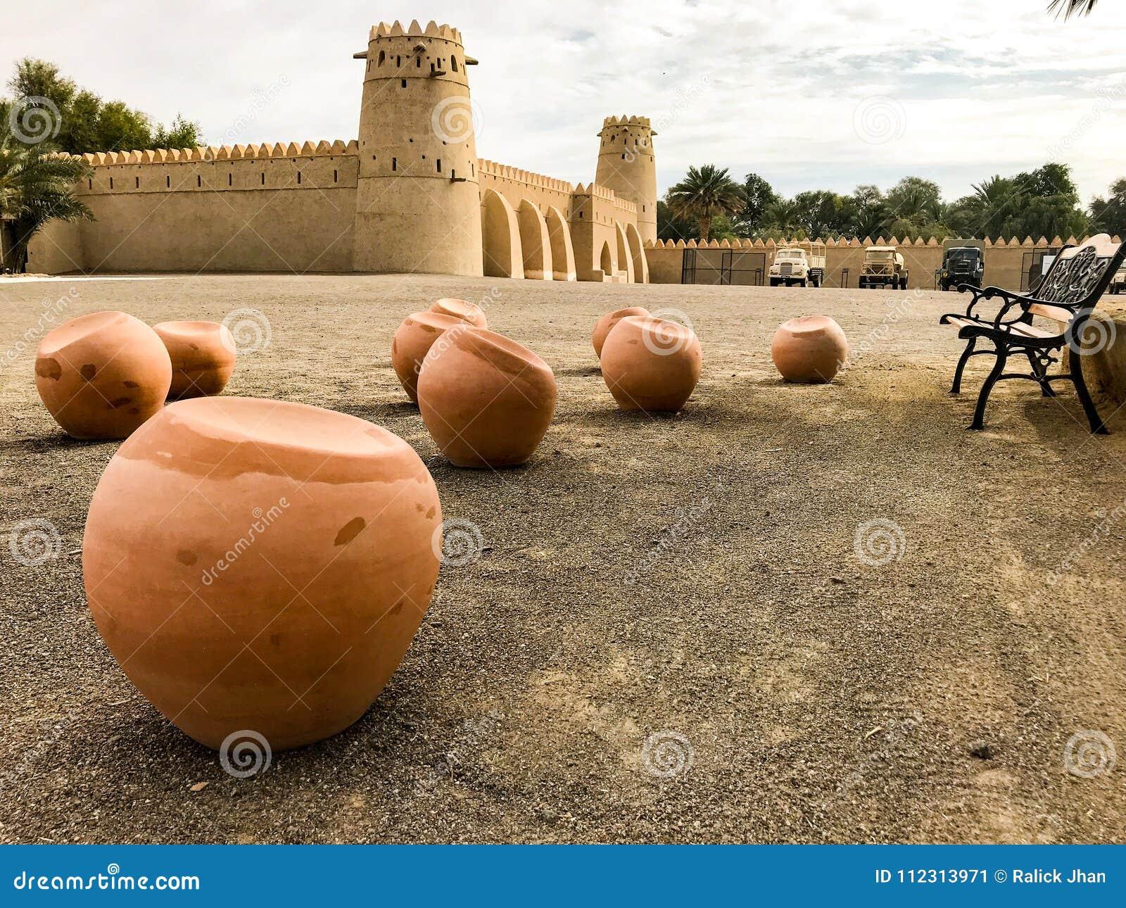 Al Jahili Fort è uno del UAE's la maggior parte dei monumenti storici