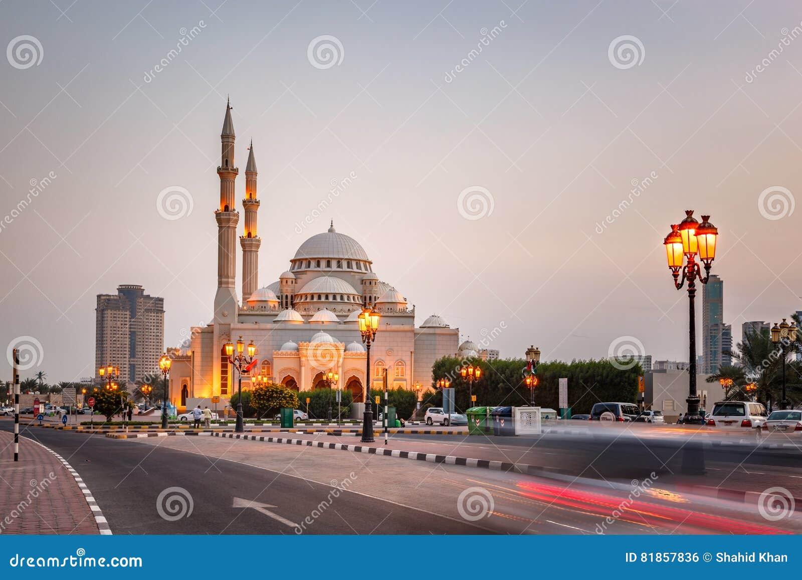 Al meczet, Sharjah UAE