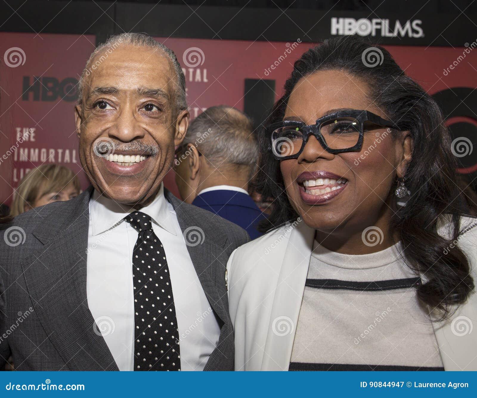 Al Sharpton an Oprah Winfrey