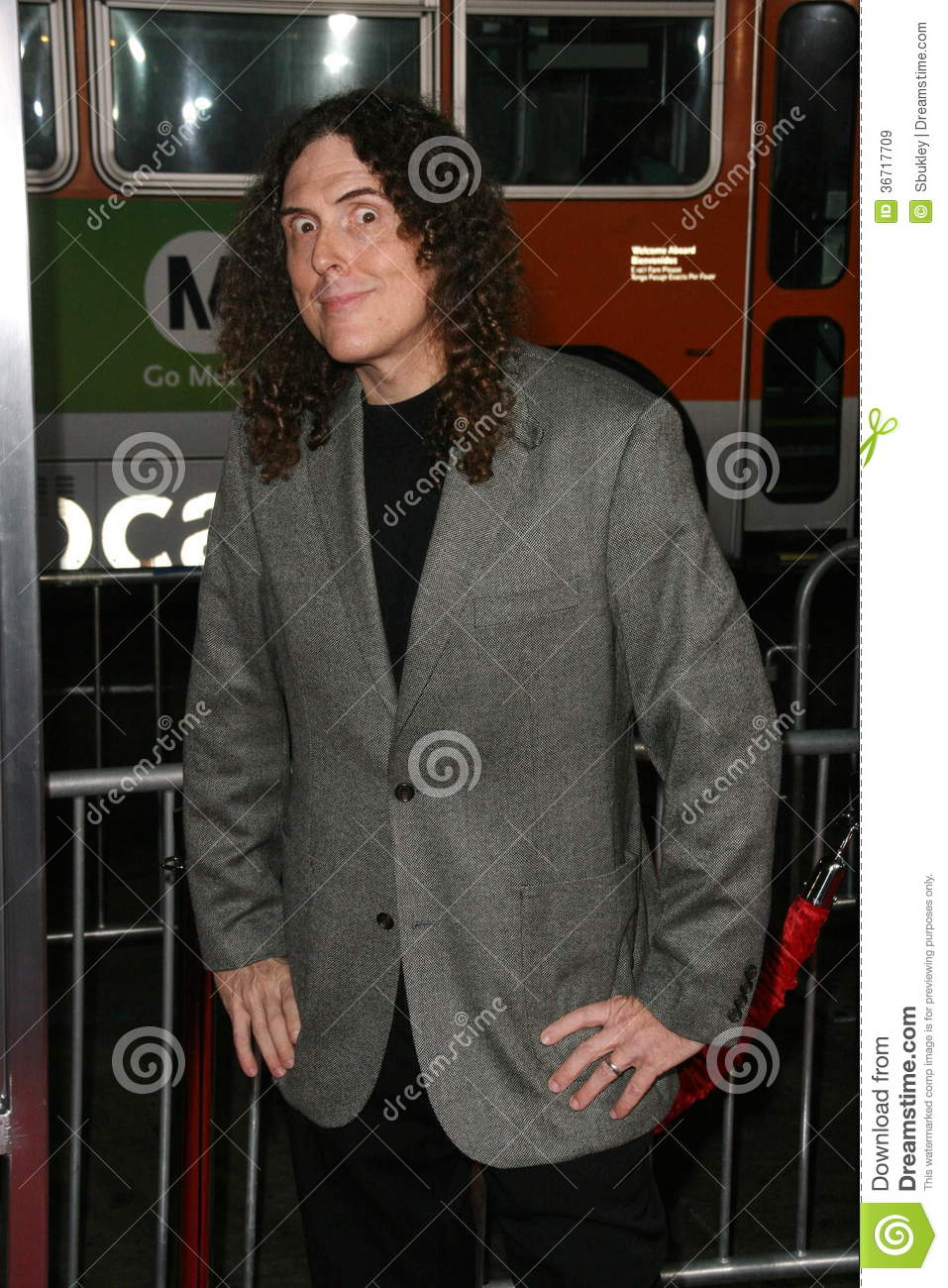 Weird Al Yankovic, editorial stock image. Image of chinese - 36717709