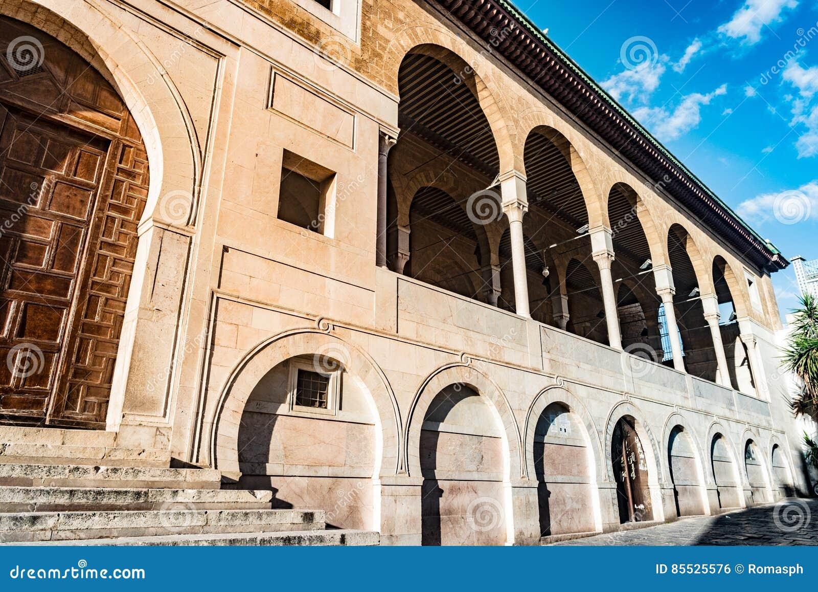 Al Zaytuna Mosque In Tunis Tunisia Stock Photo Image Of Architecture Building 85525576