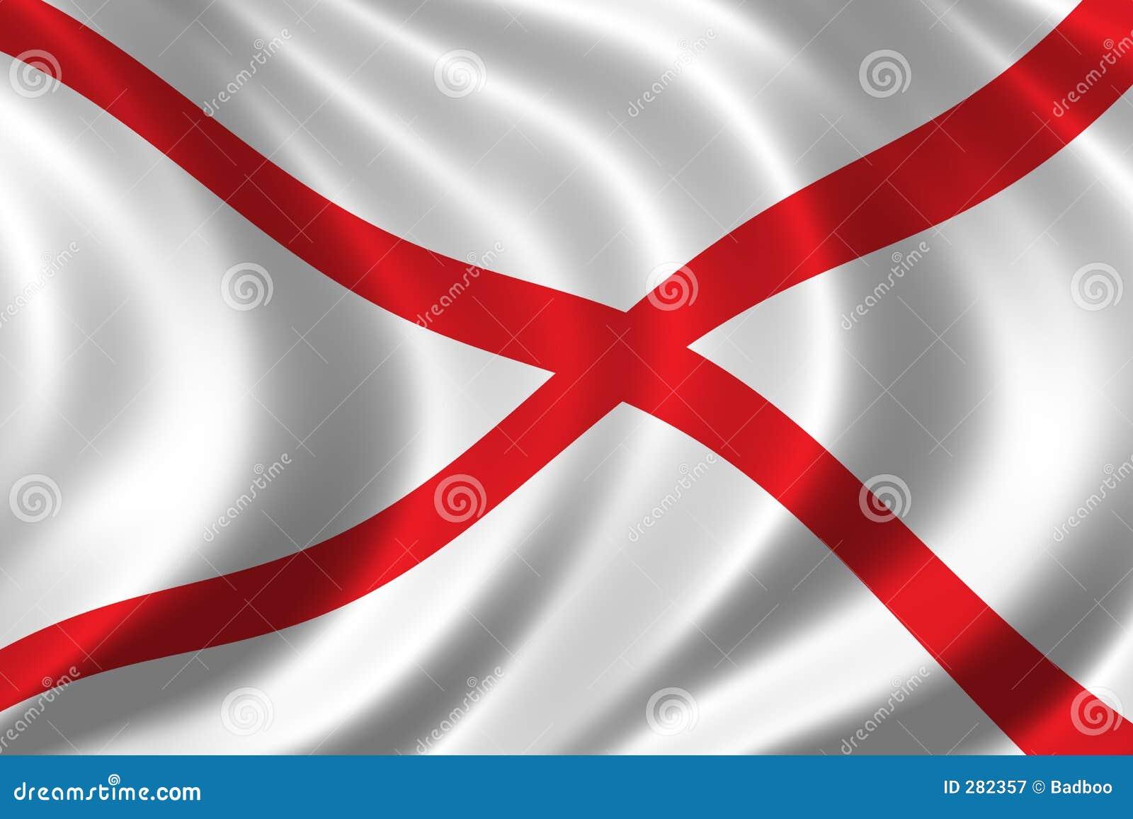 Alabama flagga