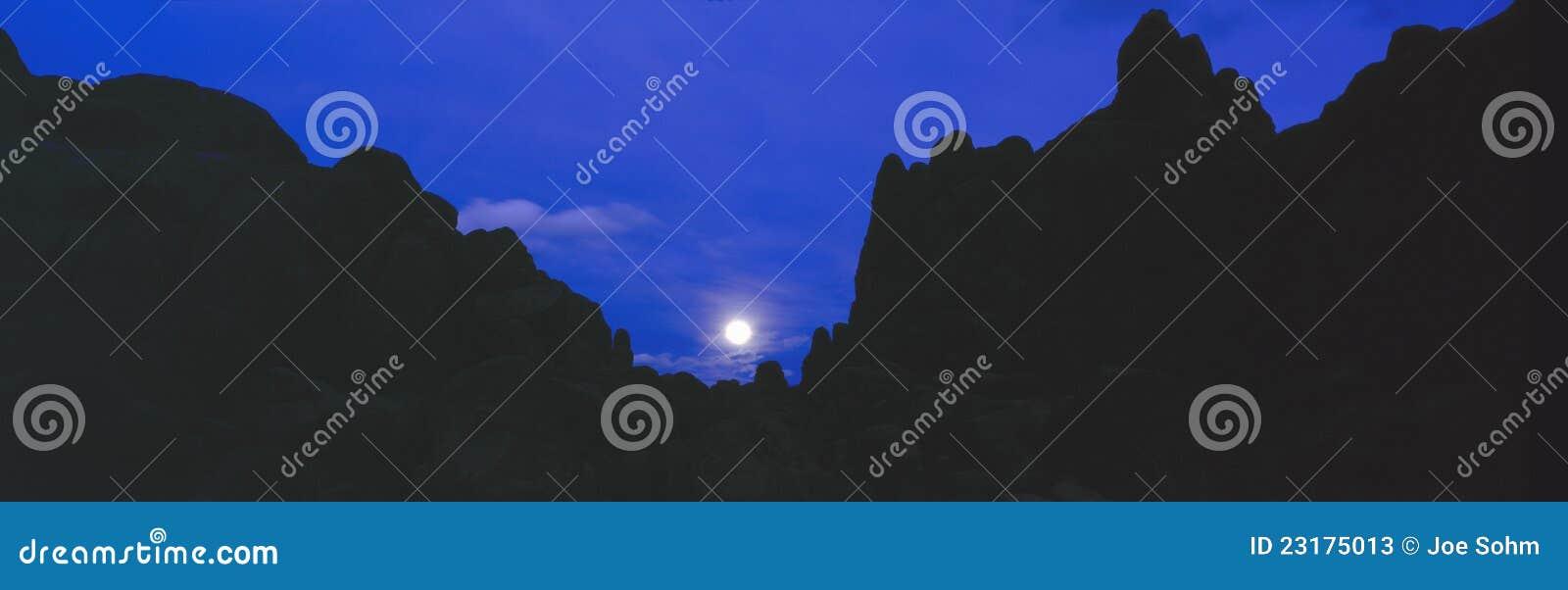Alabama wzgórzy moonrise