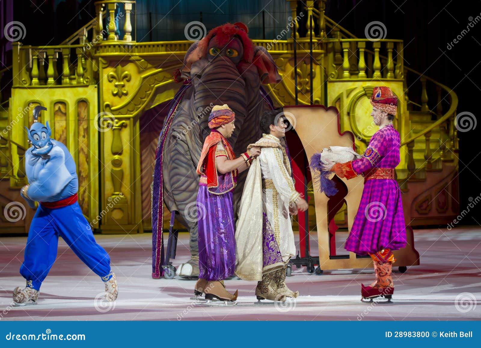Aladdin słoń i krasnoludkowie
