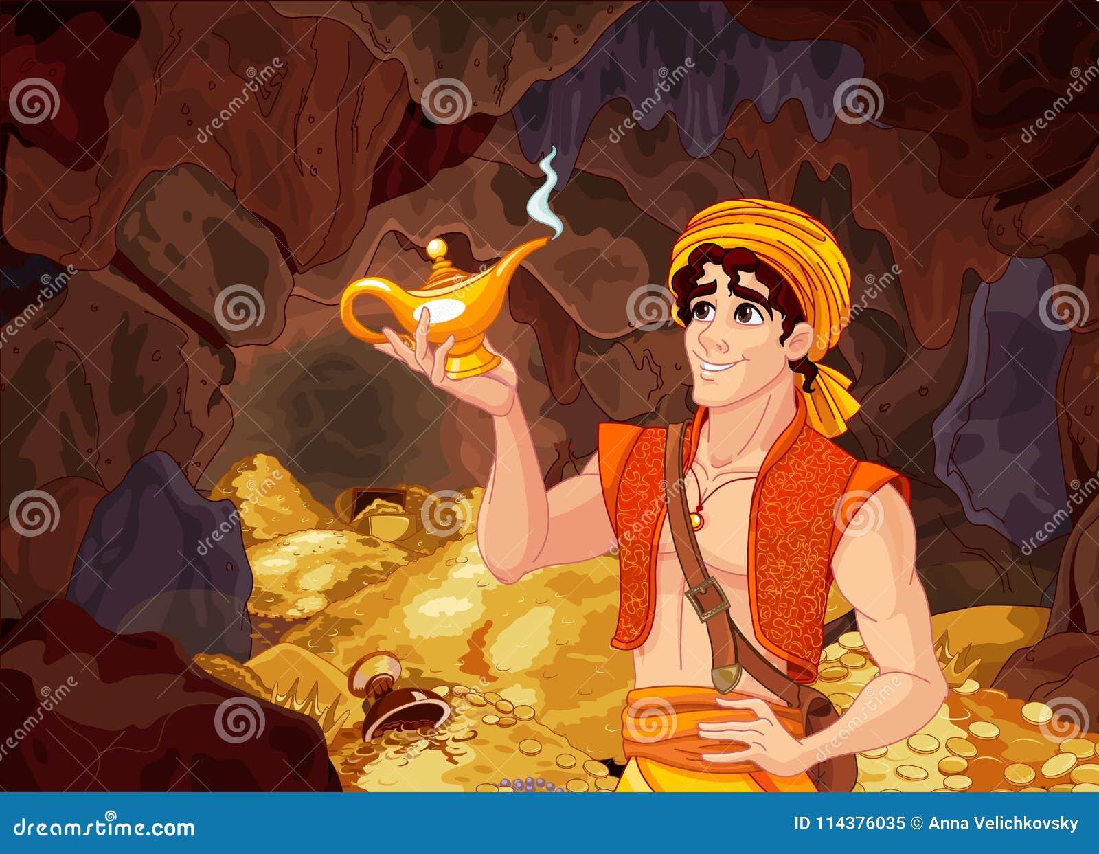 Aladdin Ilustraciones Stock, Vectores, Y Clipart
