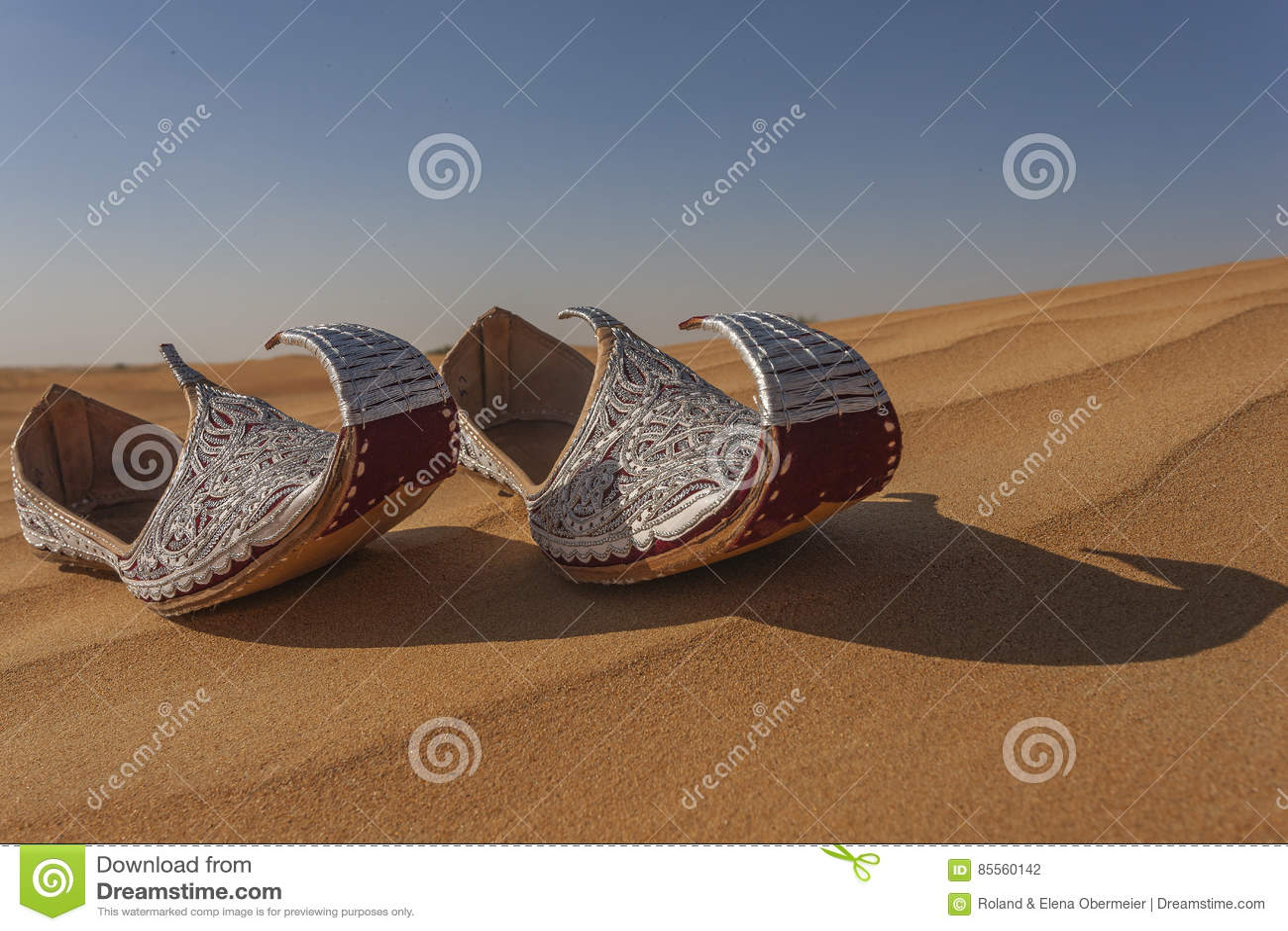 Aladins verlor Schuhe