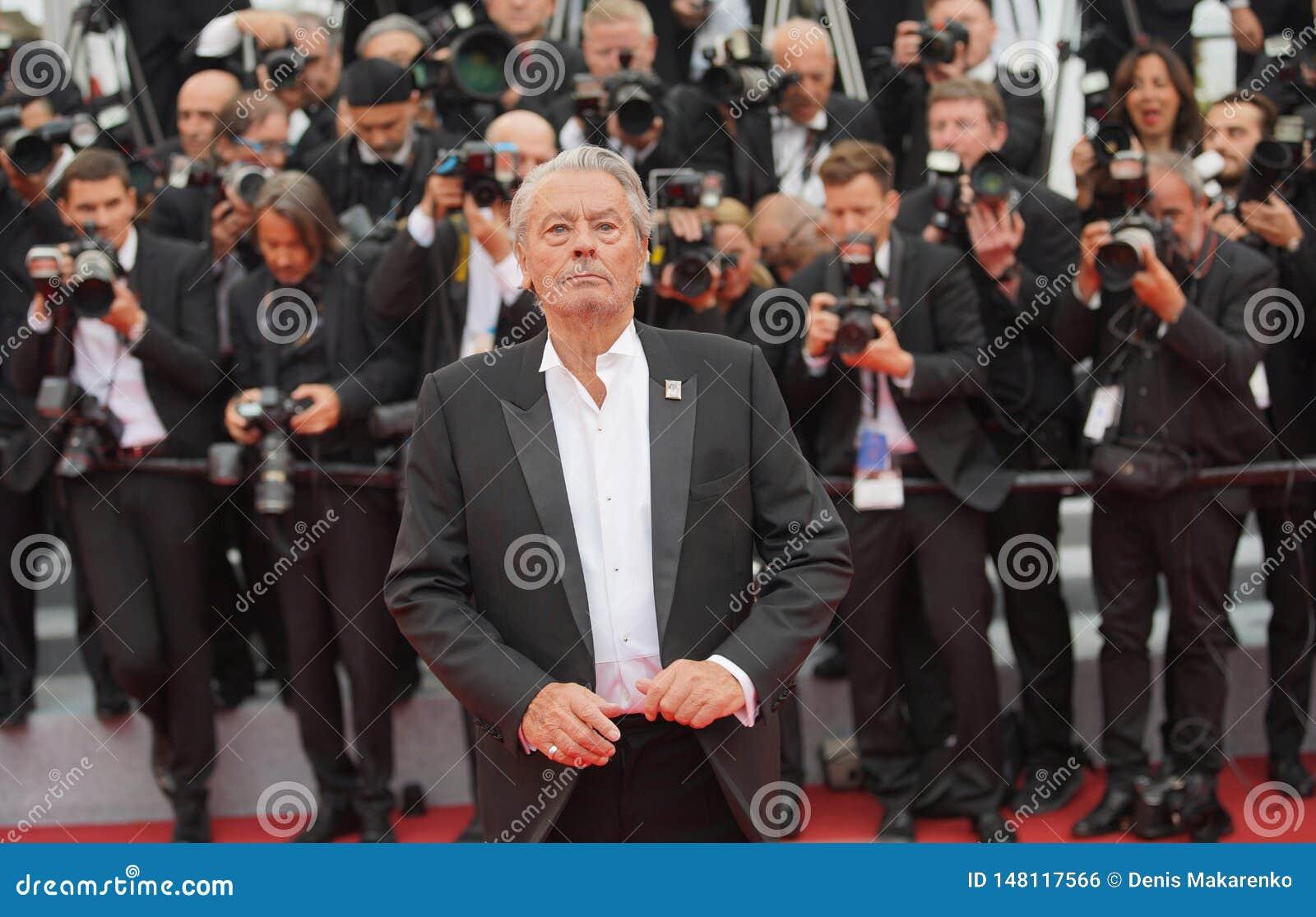 Alain Delon присутствует на скрининге
