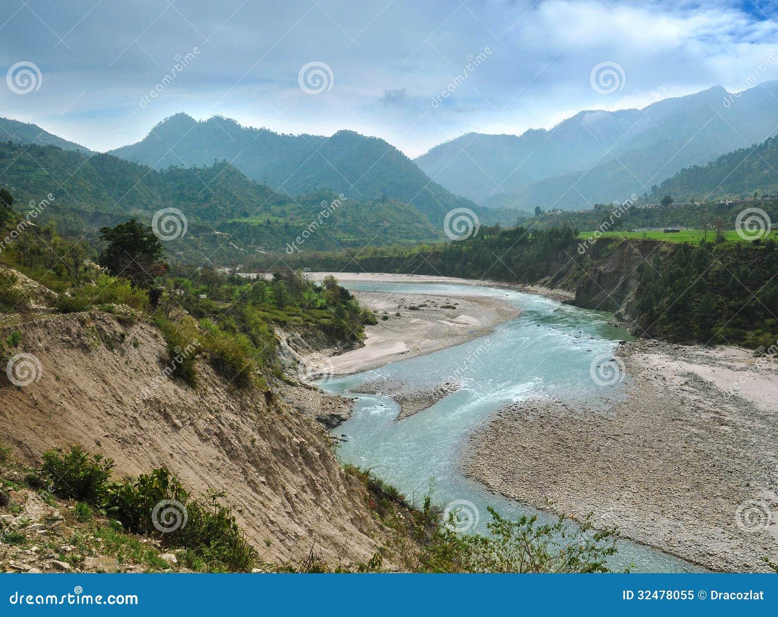 Alaknanda flodkanal