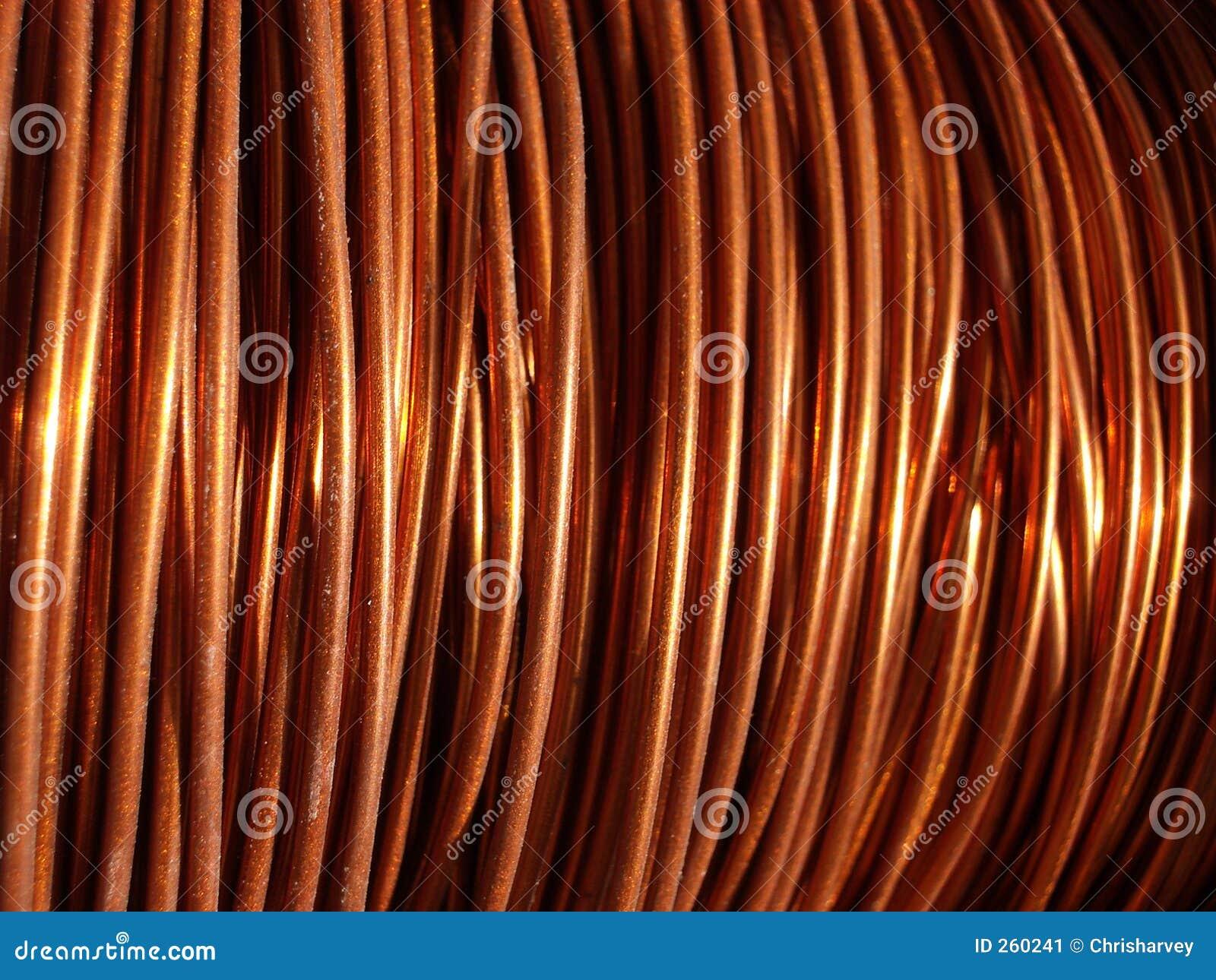 Alambre de cobre 2 imagen de archivo imagen 260241 - Alambre de cobre ...
