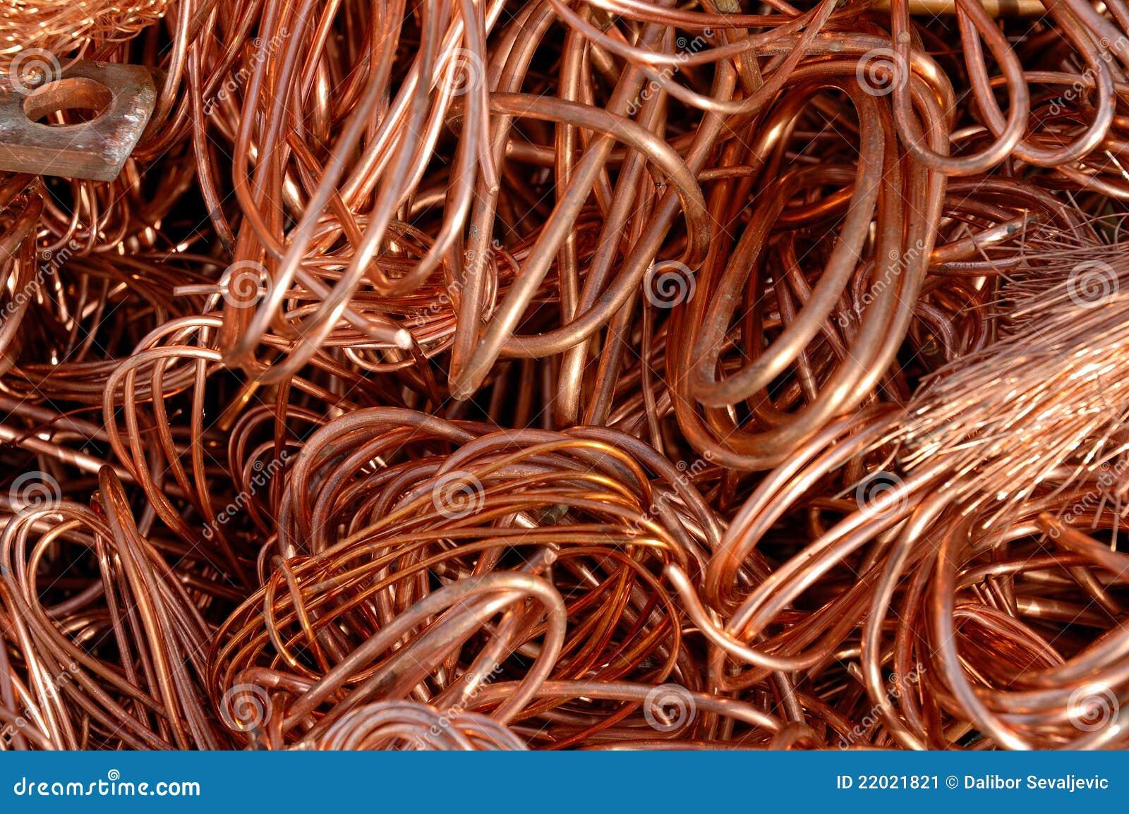 Alambre de cobre imagen de archivo imagen 22021821 - Alambre de cobre ...