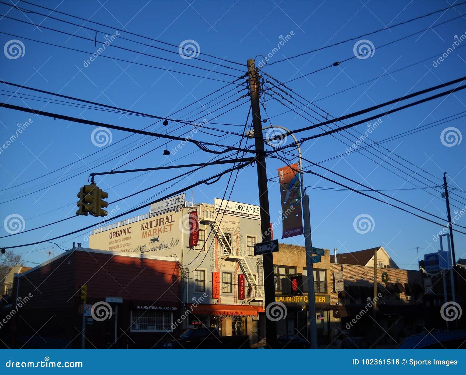 Alambres eléctricos de madera ligeros de poste