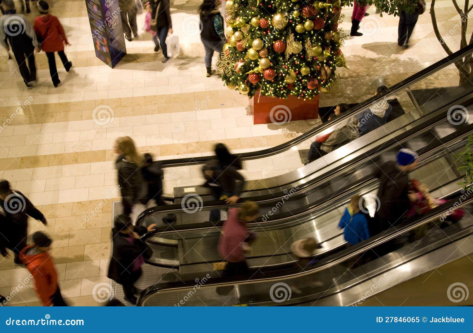 Alameda de compras del día de fiesta