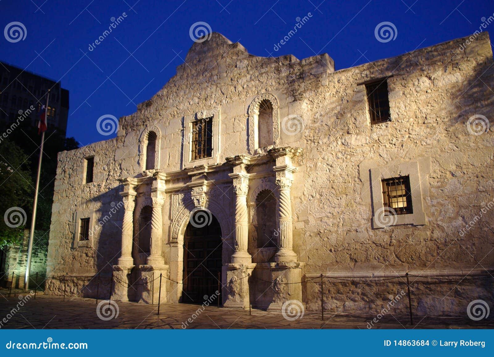 Alamo dusk