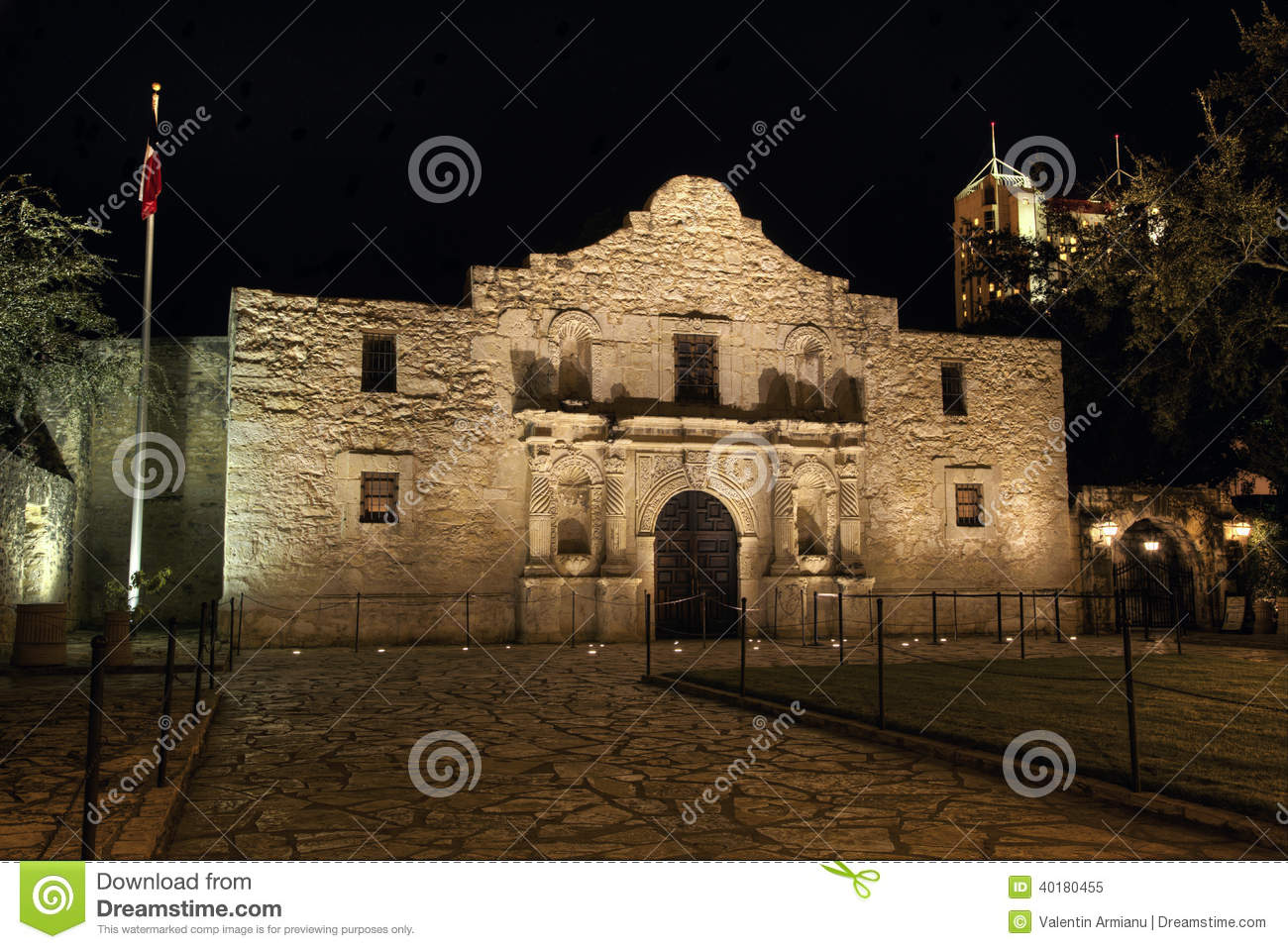 an overview of the original mission of americas landmark the alamo