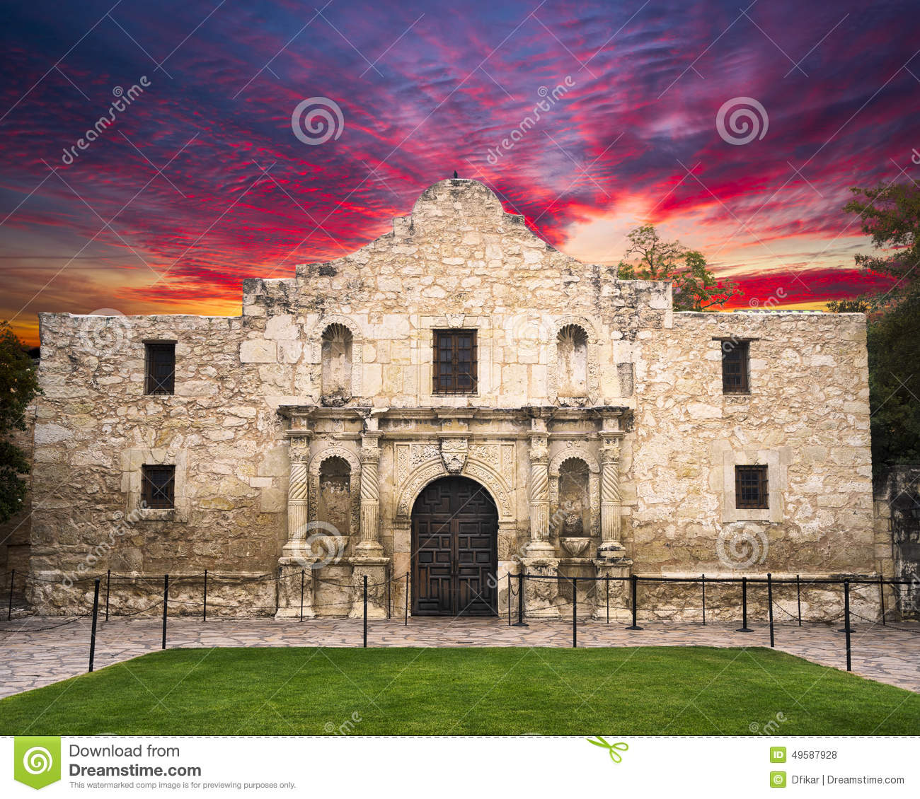 The Alamo Royalty-Free Stock Photography
