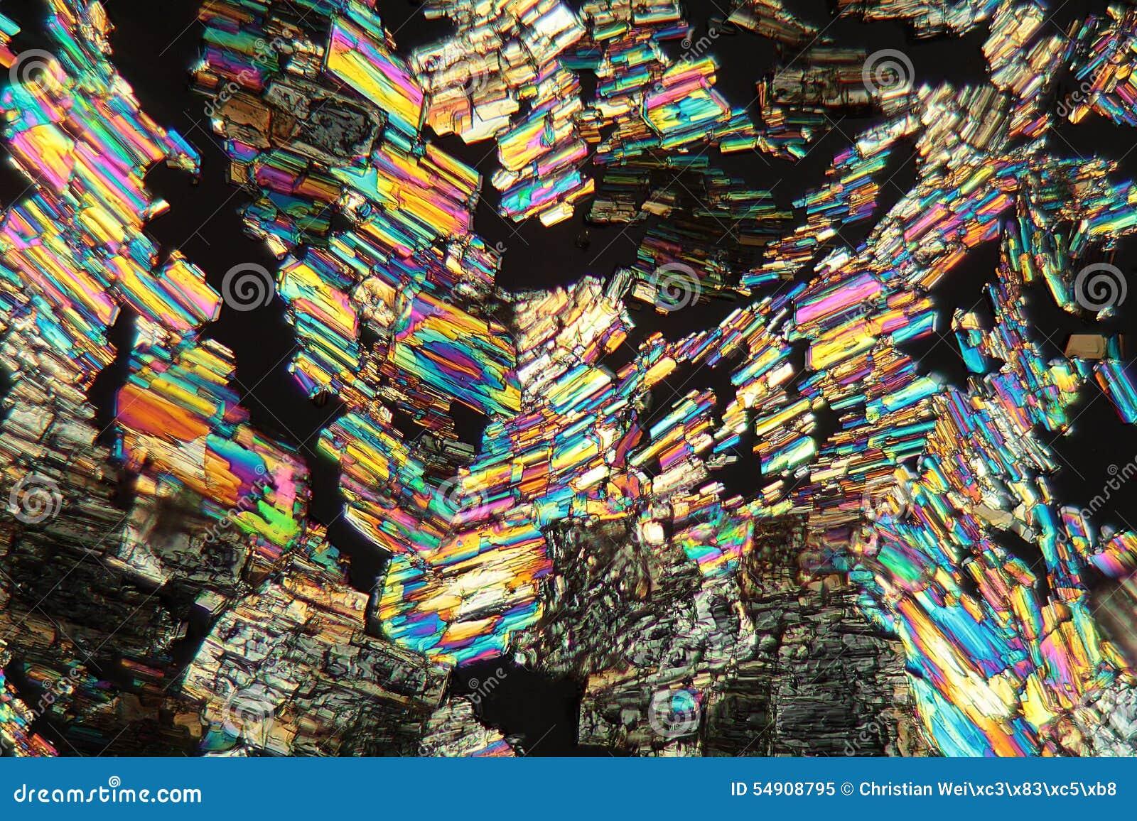 Alanineaminosyra under mikroskopet