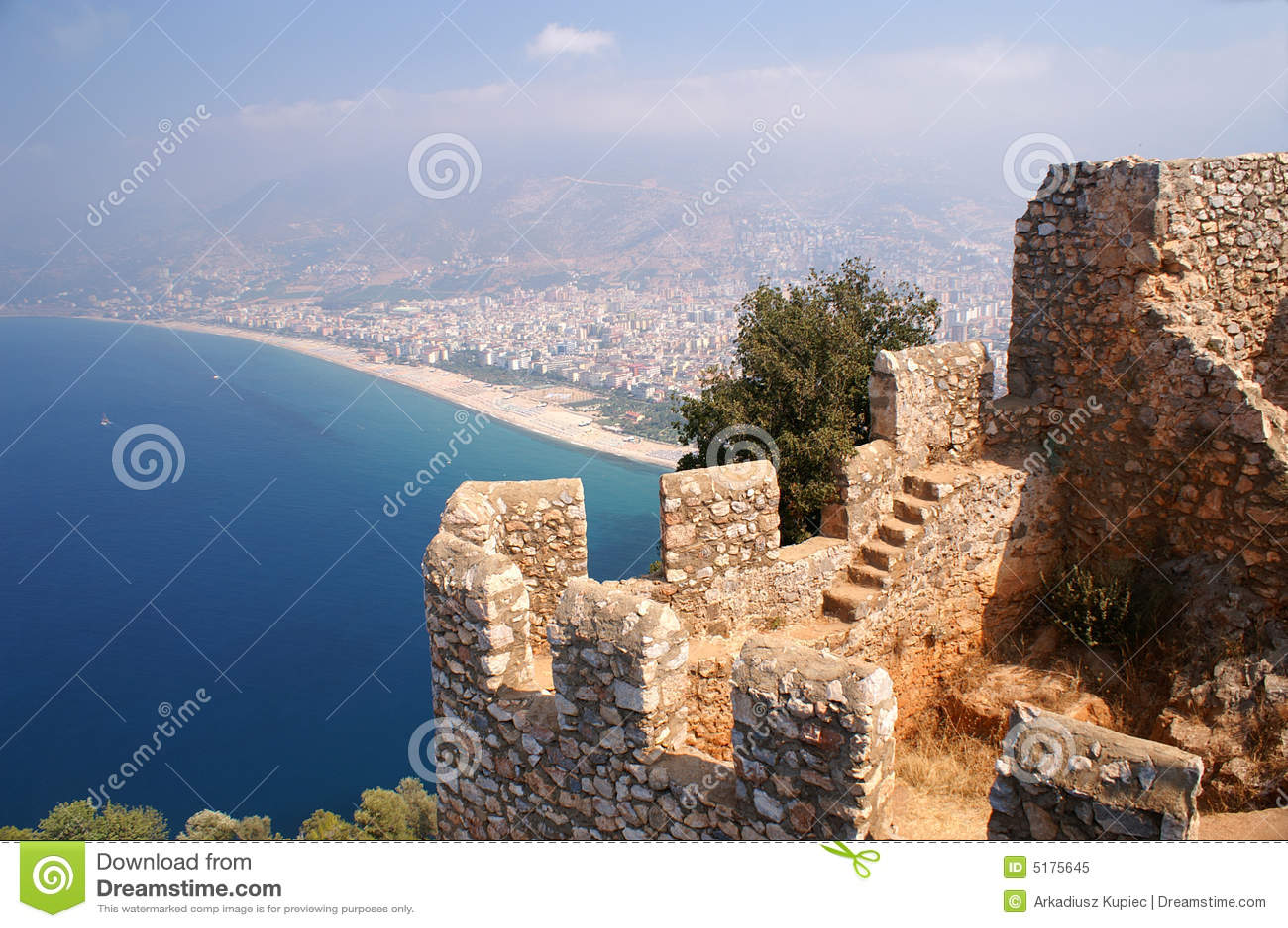 Alanya, Castle, beach