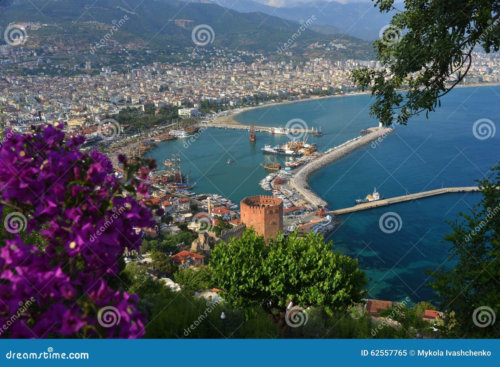 Alanya, die Türkei