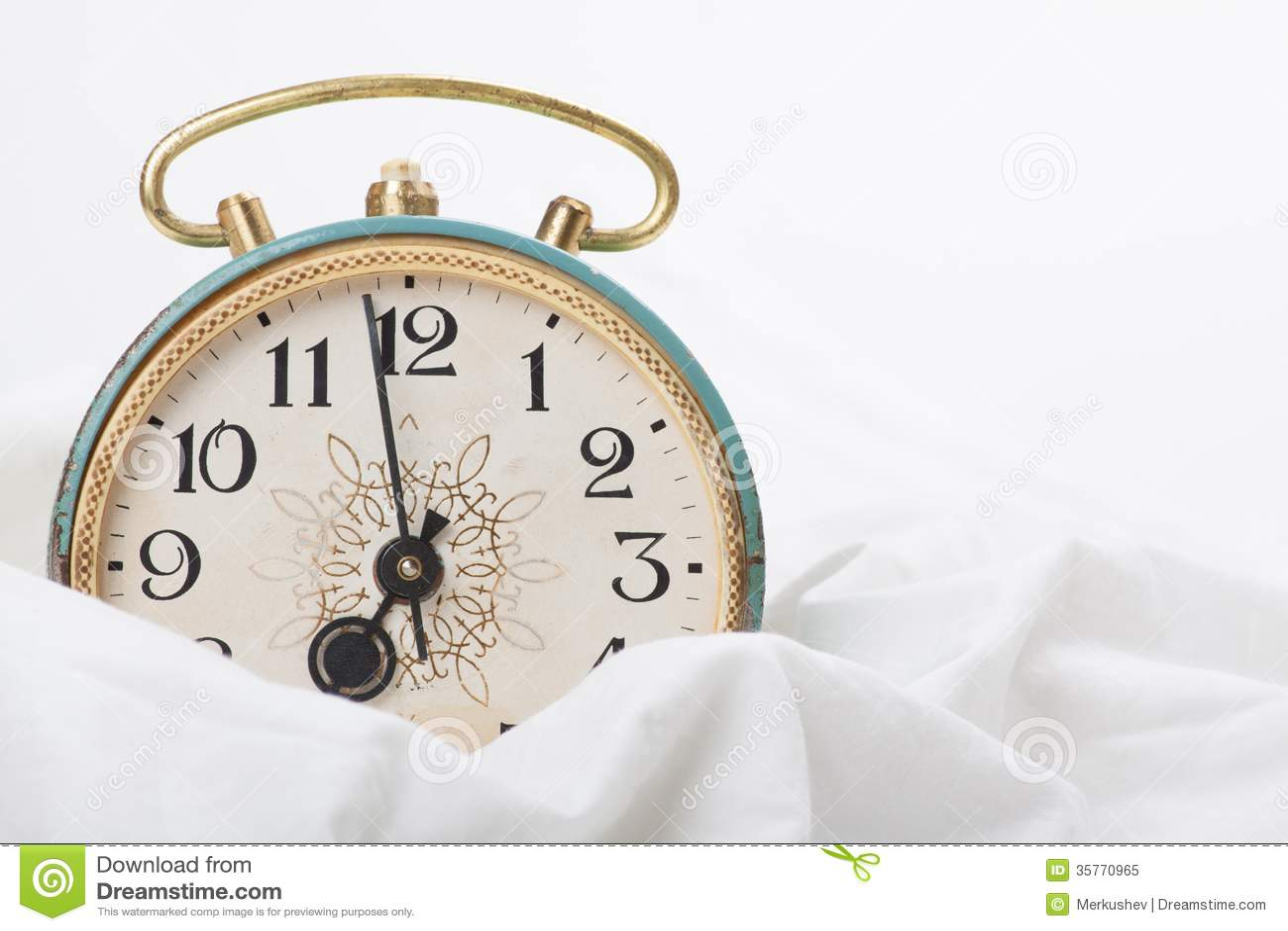 alarm clock on the bed royalty free stock photo image alarm clock clip art
