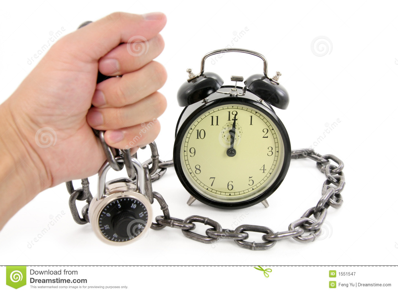 Old Fashioned Watch Chain  Letters