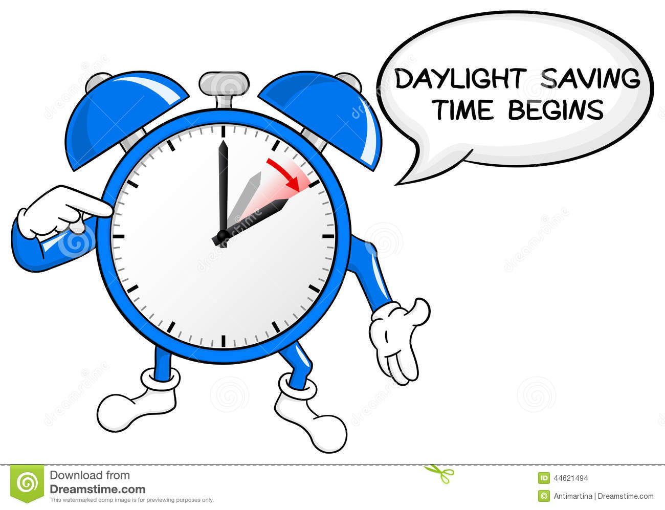 day light saving time Daylight saving time ends on the first sunday in november, when clocks are moved back an hour at 2 am local daylight time (so they will then read 1 am local standard time) last year, dst began on march 12 and ended on nov 5.