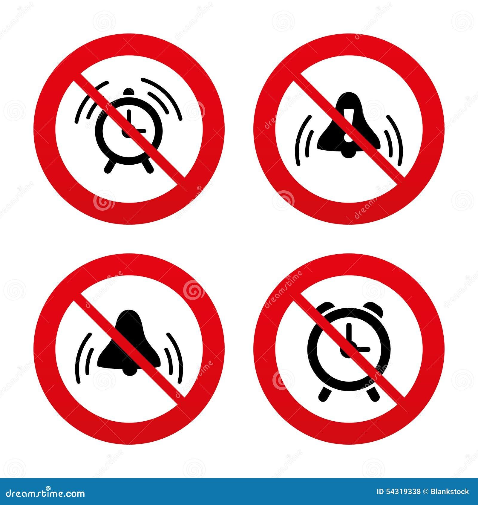 Alarm clock icons wake up bell signs symbols stock vector wake up bell signs symbols buycottarizona Choice Image