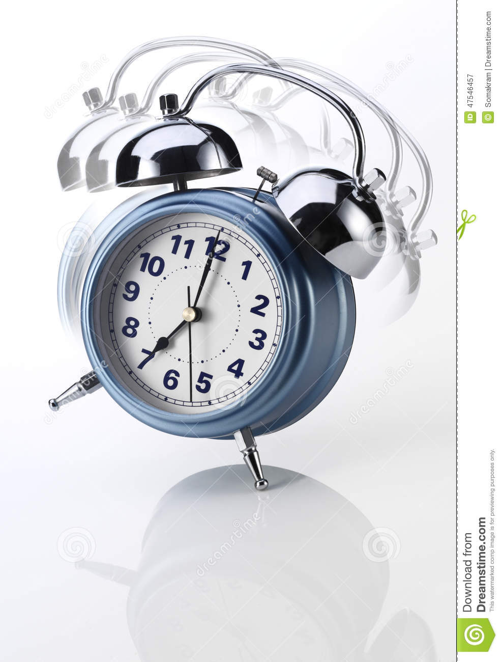 Download Alarm Clock stock image. Image of background, arise, time - 47546457
