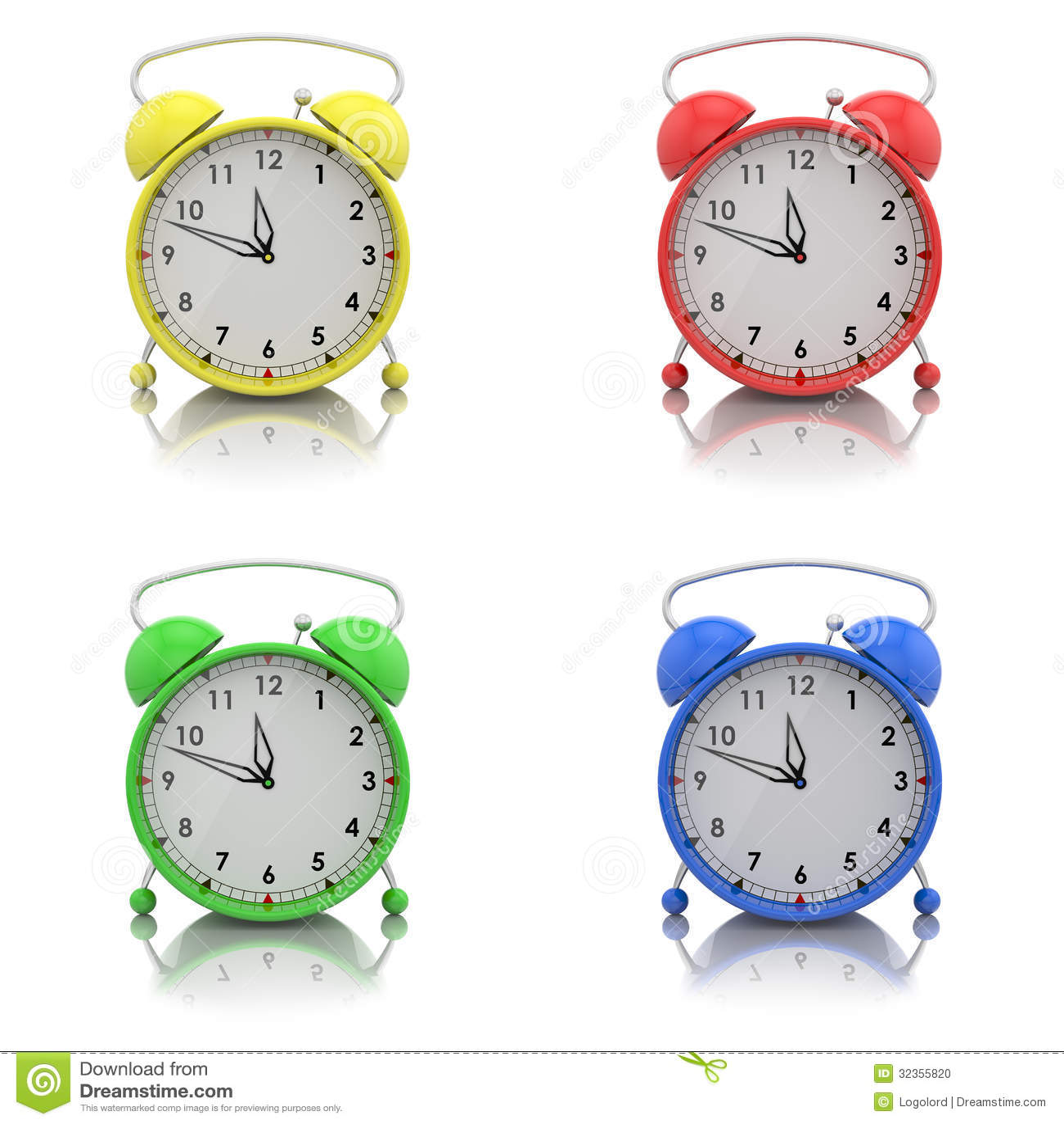 how to set alarm on hosunda clock