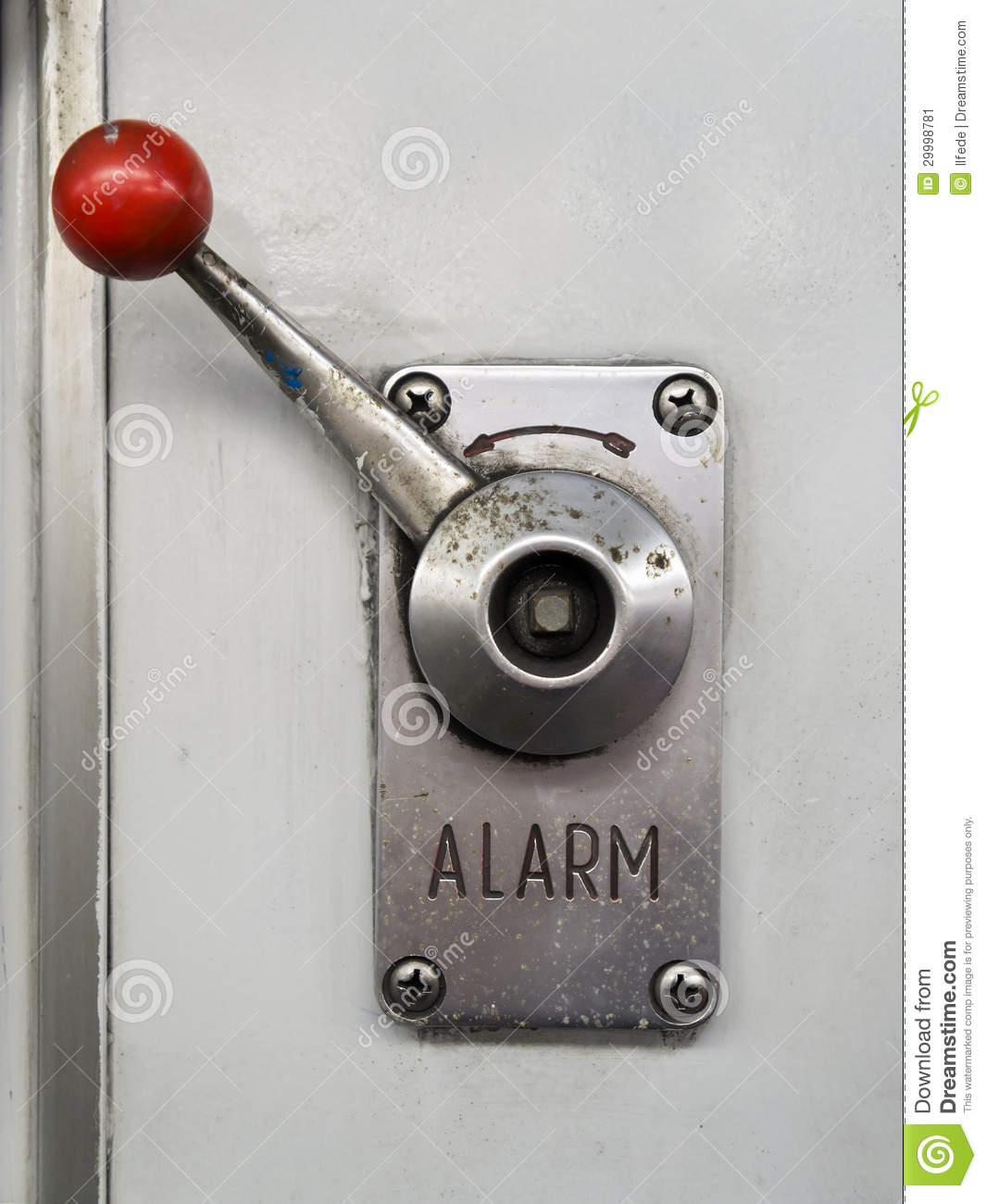 Change Lever For Trains : Alarm lever stock image of rescue prevention