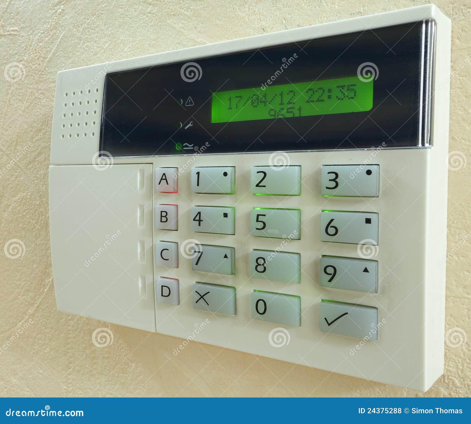 Alarm Panel Royalty Free Stock Photos Image 24375288