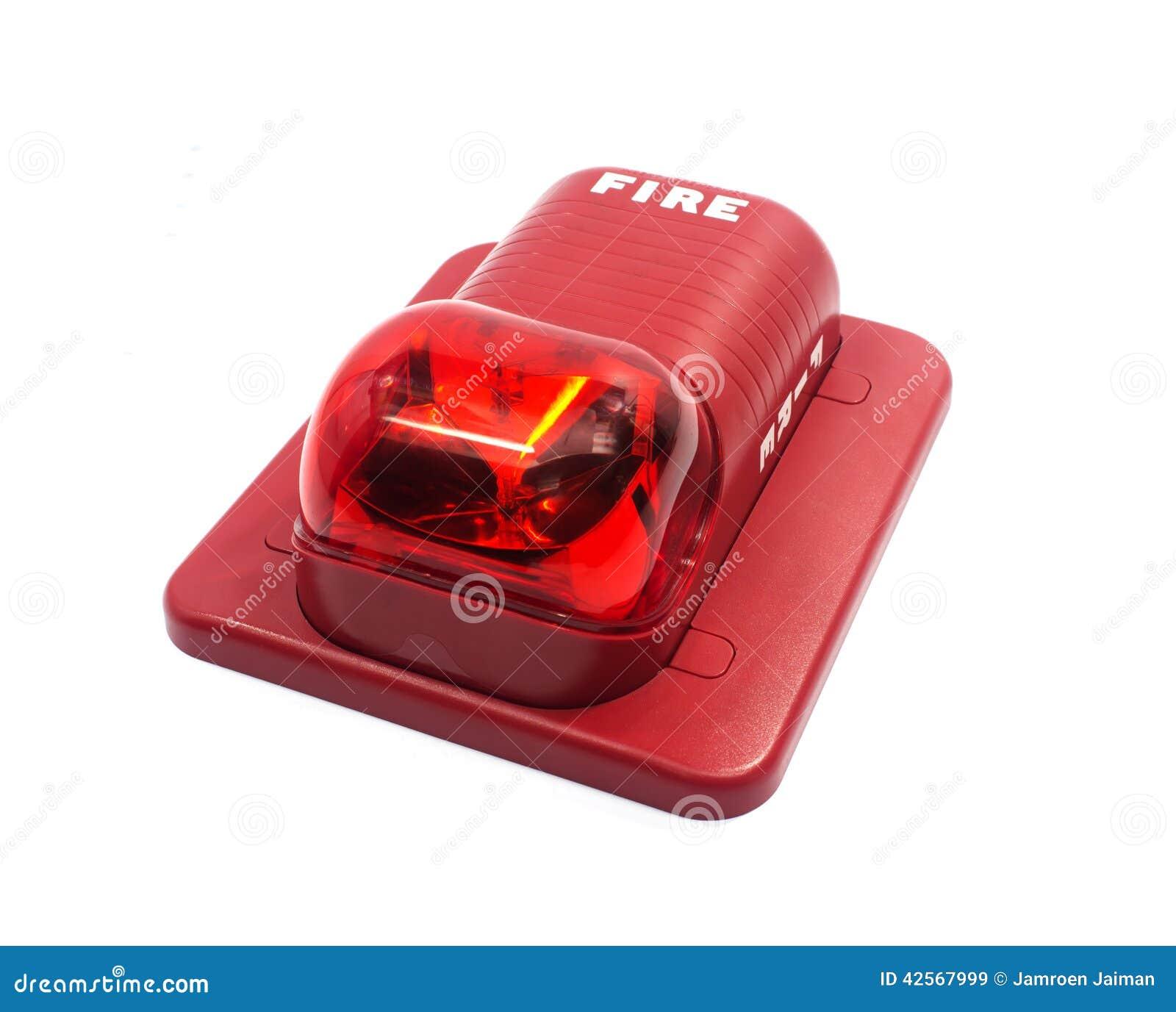 Alarma de incendio con construido en luz del estroboscópico a la alarma en caso del fuego