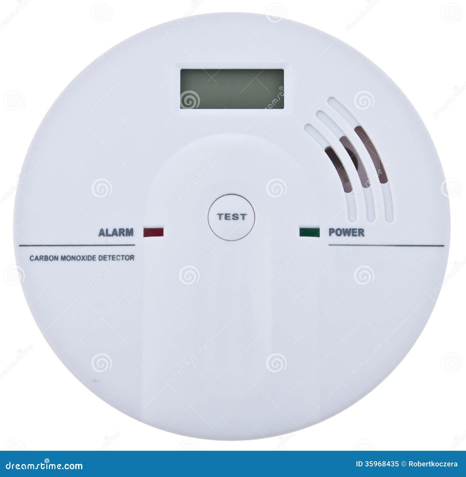 Alarma del monóxido de carbono