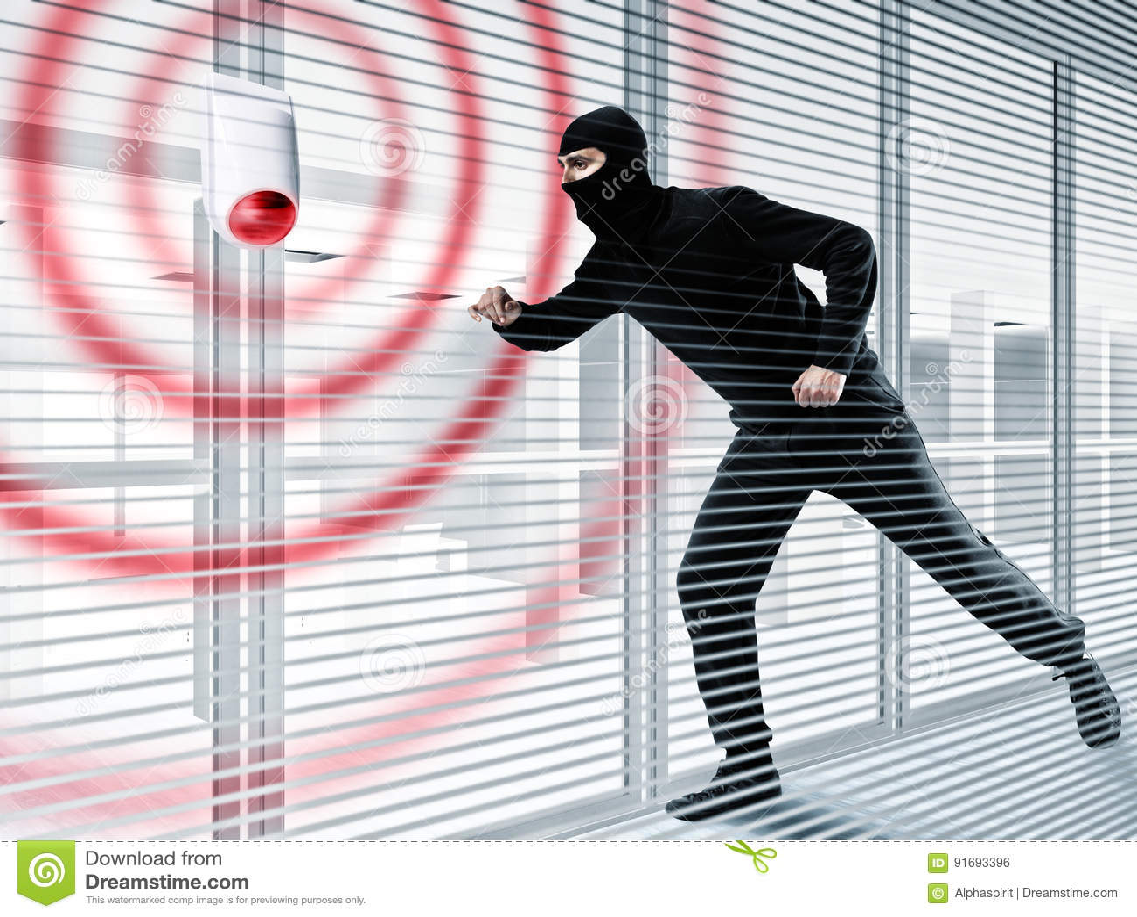 Alarma para robar a un ladrón