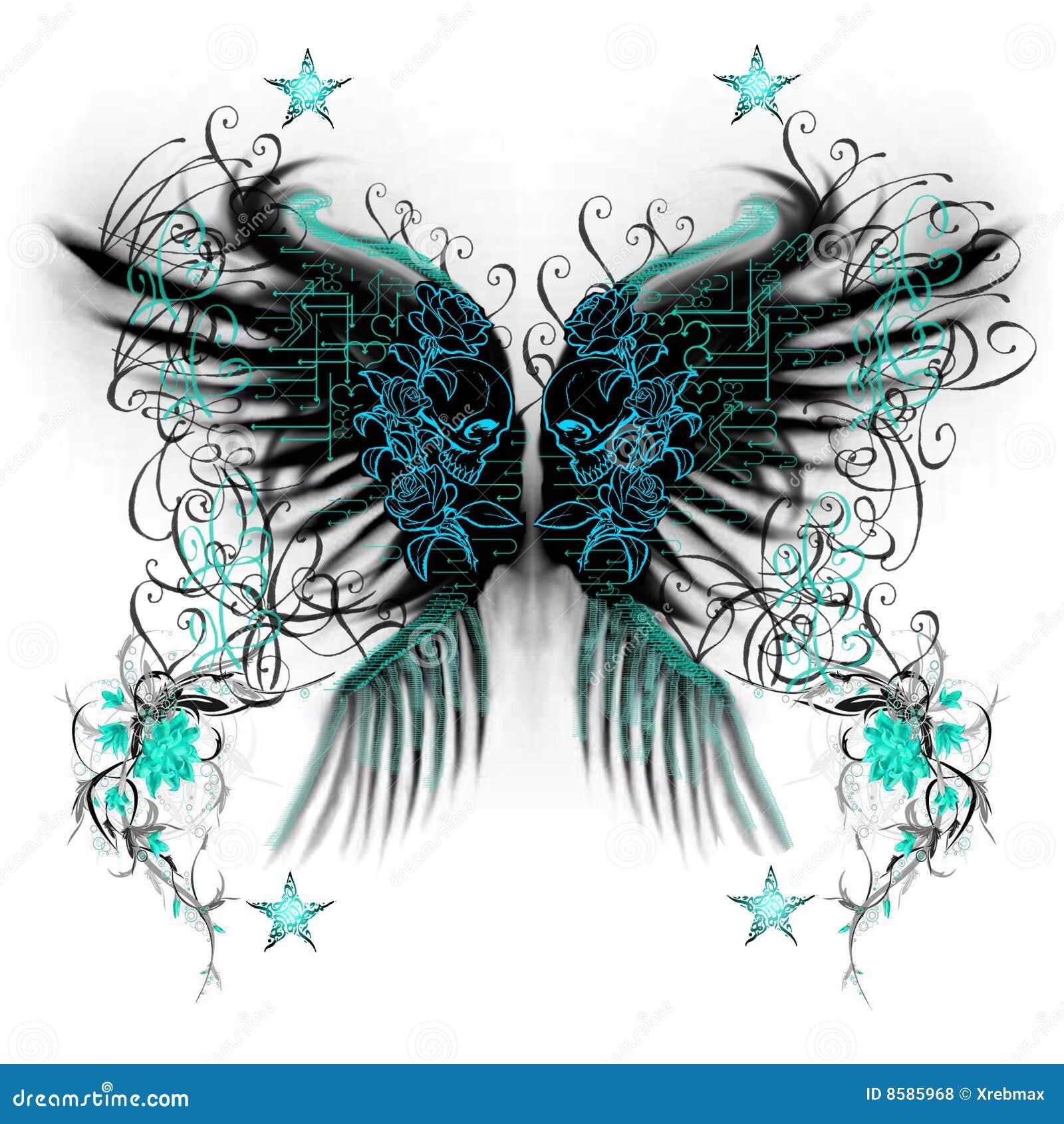 Alas de la mariposa