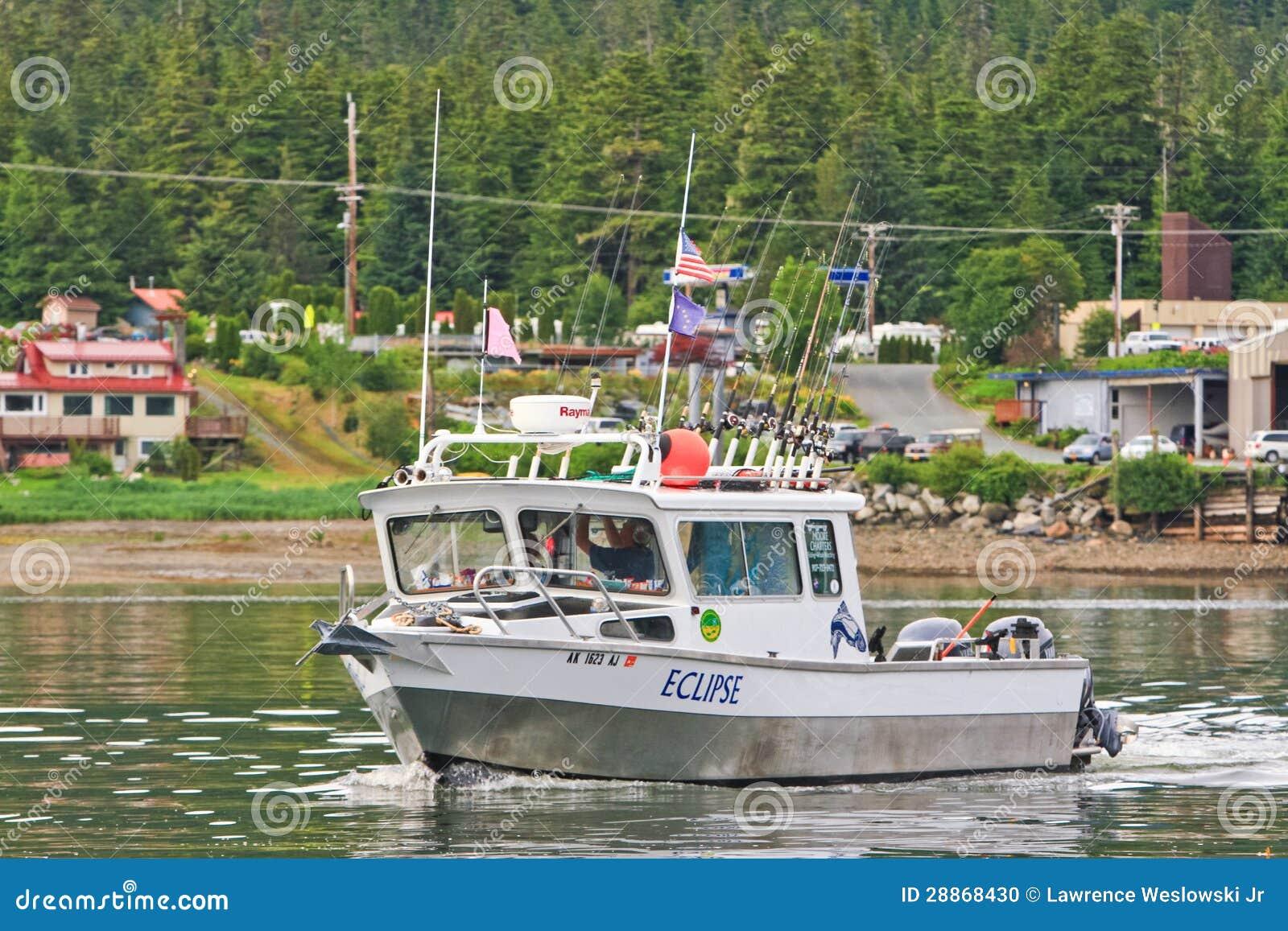 Alaska fishing boat auke bay juneau 2 editorial image for Juneau alaska fishing