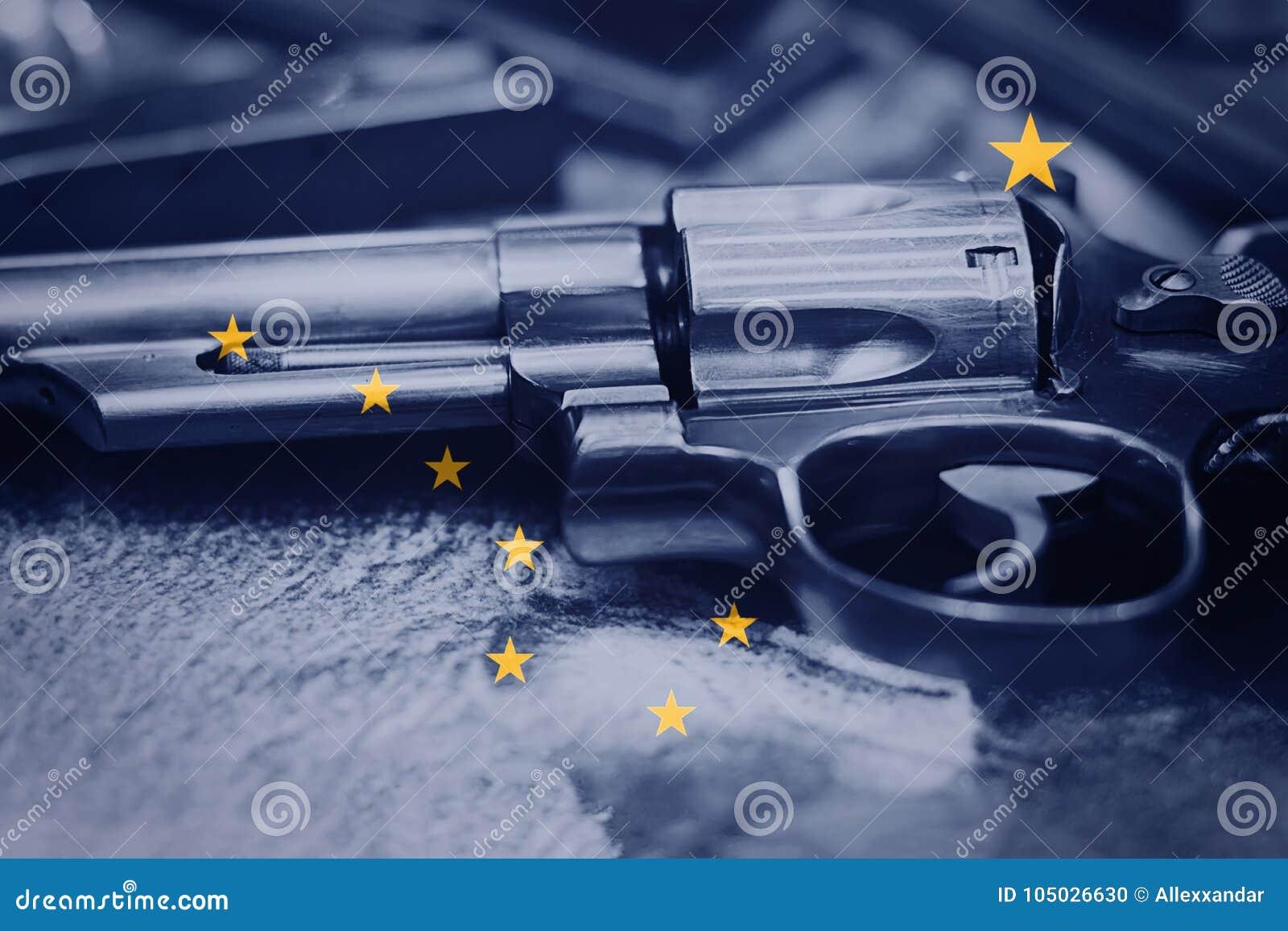 third image of Gun Laws Of Alaska with Alaska Flag U.S. State Gun Control USA. United States Gun ...