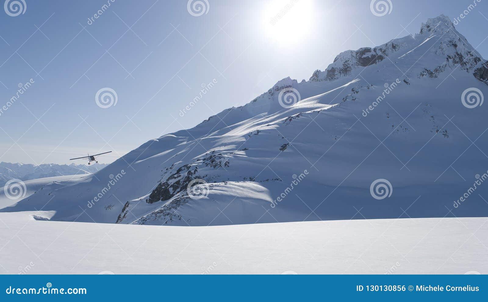 Alaska Flightseeing en invierno