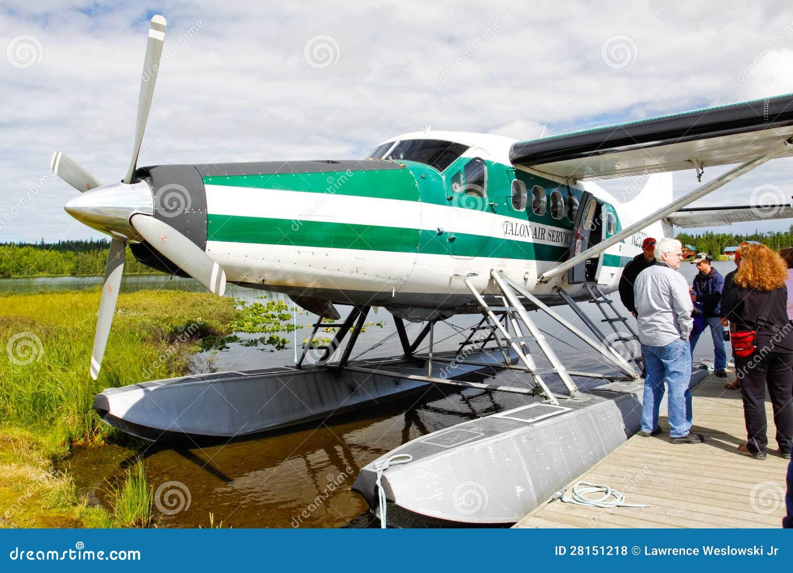 Alaska Float Plane - De Havilland Otter