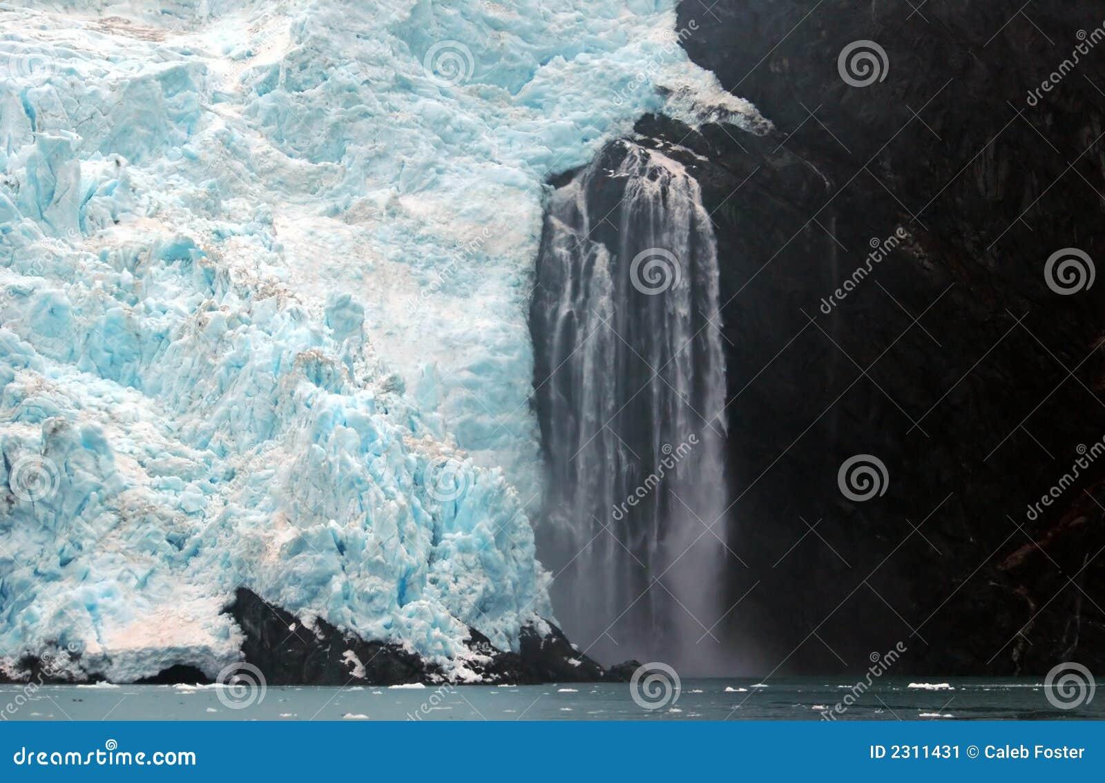 Alaska glaciär