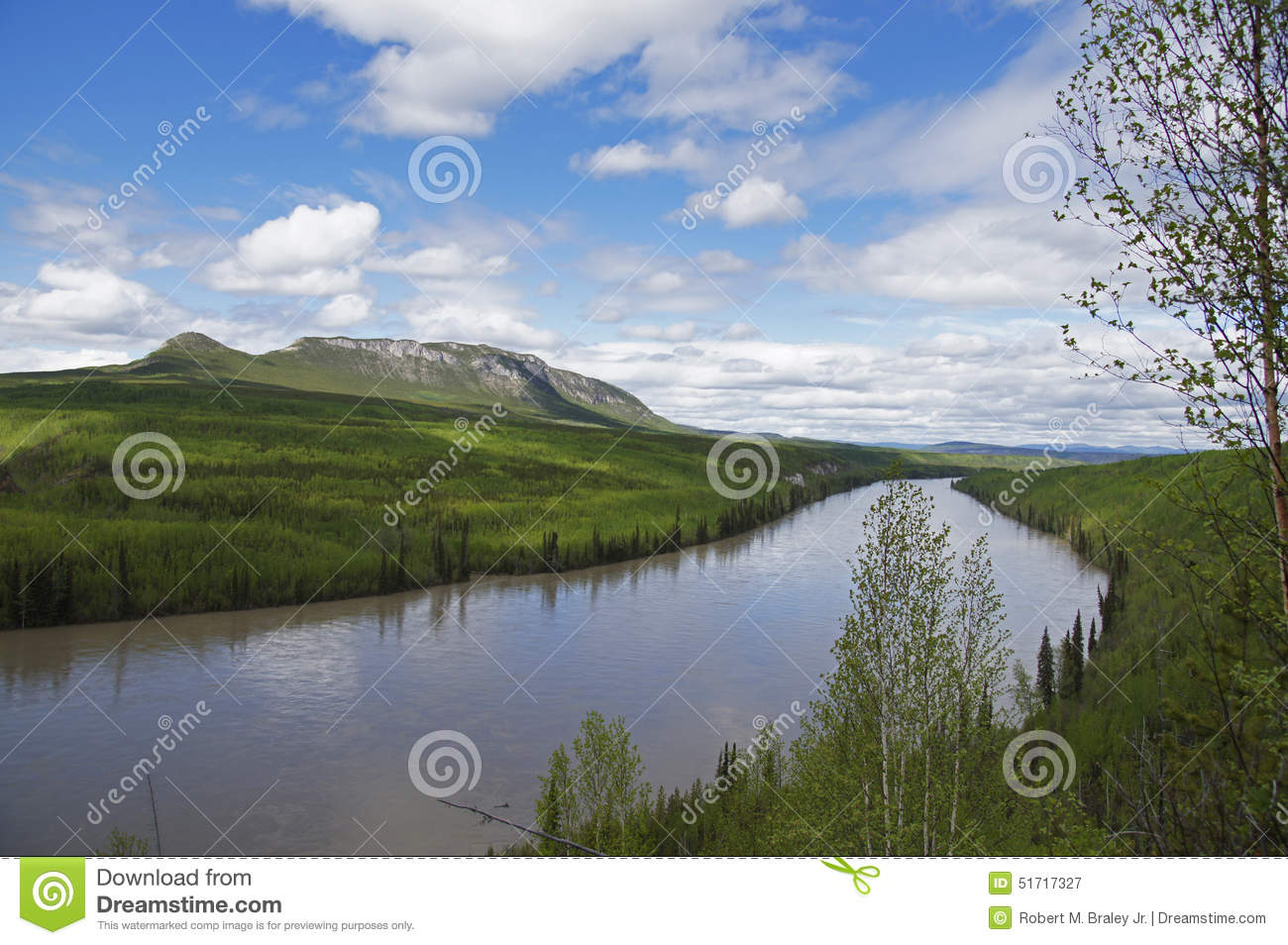 Alaska Highway Peace River