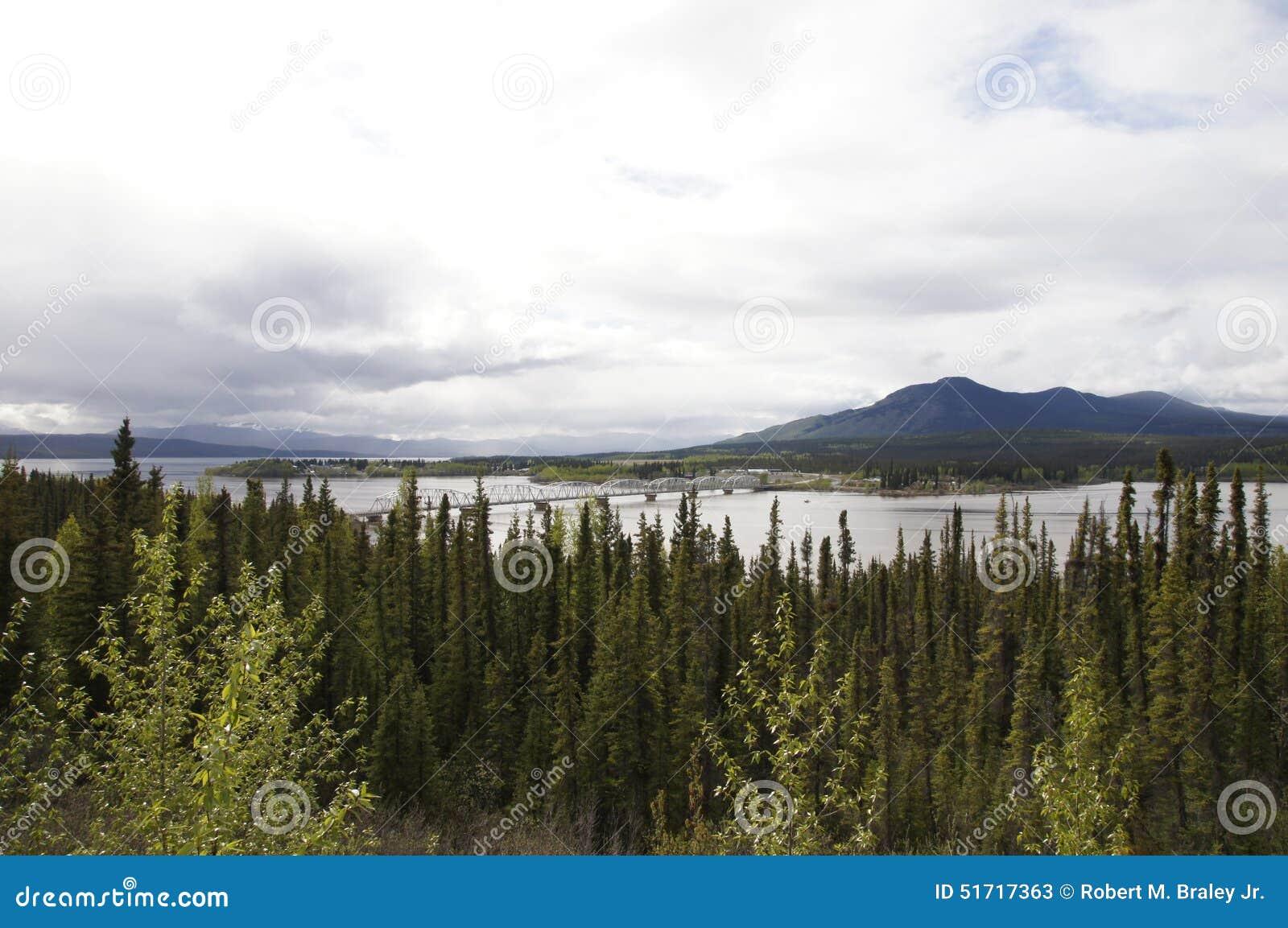 Alaska Highway River Bridge