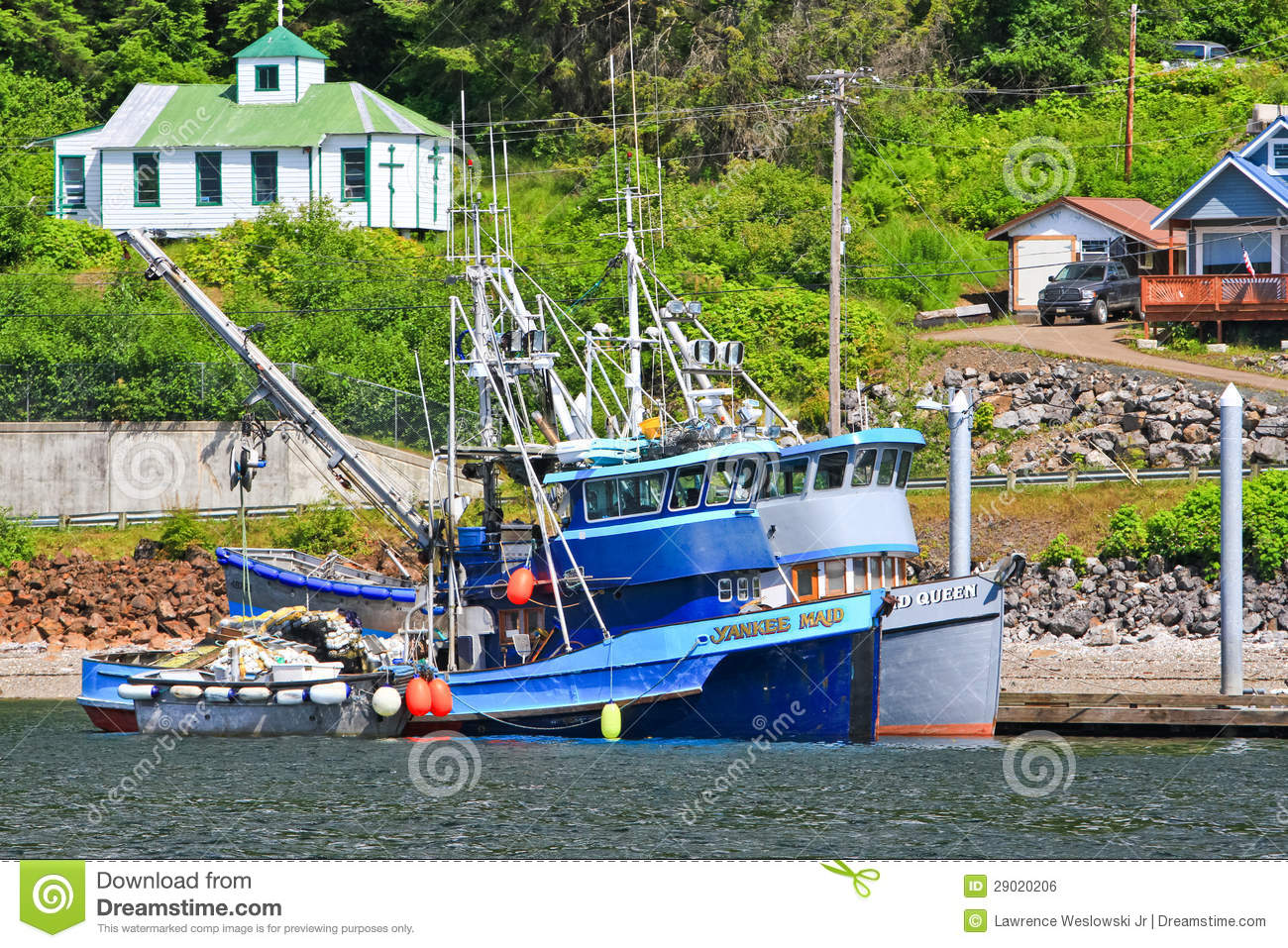 Alaska hoonah fishing boats editorial photo image of for Ak fishing license